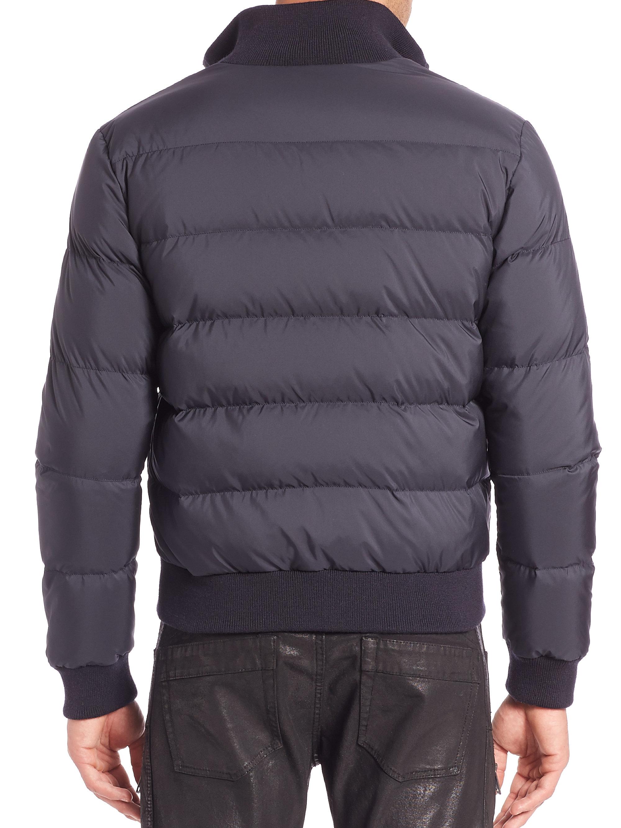 Lyst Ralph Lauren Black Label Ski Down Jacket In Blue