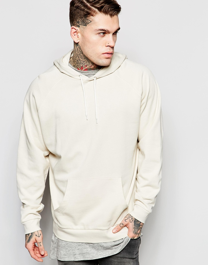 Beige Hoodie Mens Photo Album - Reikian