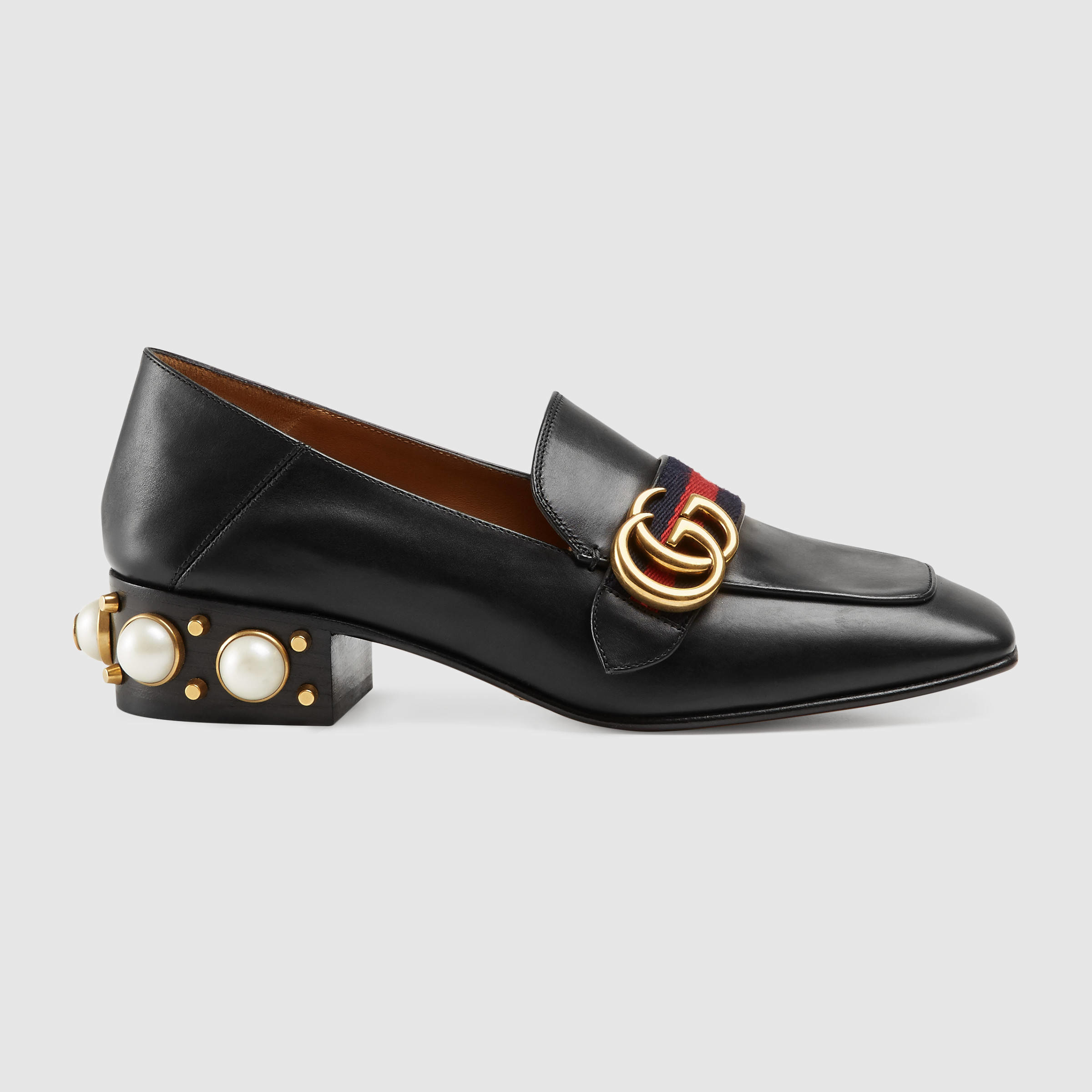 Mens Shoes With Pearls In Heel
