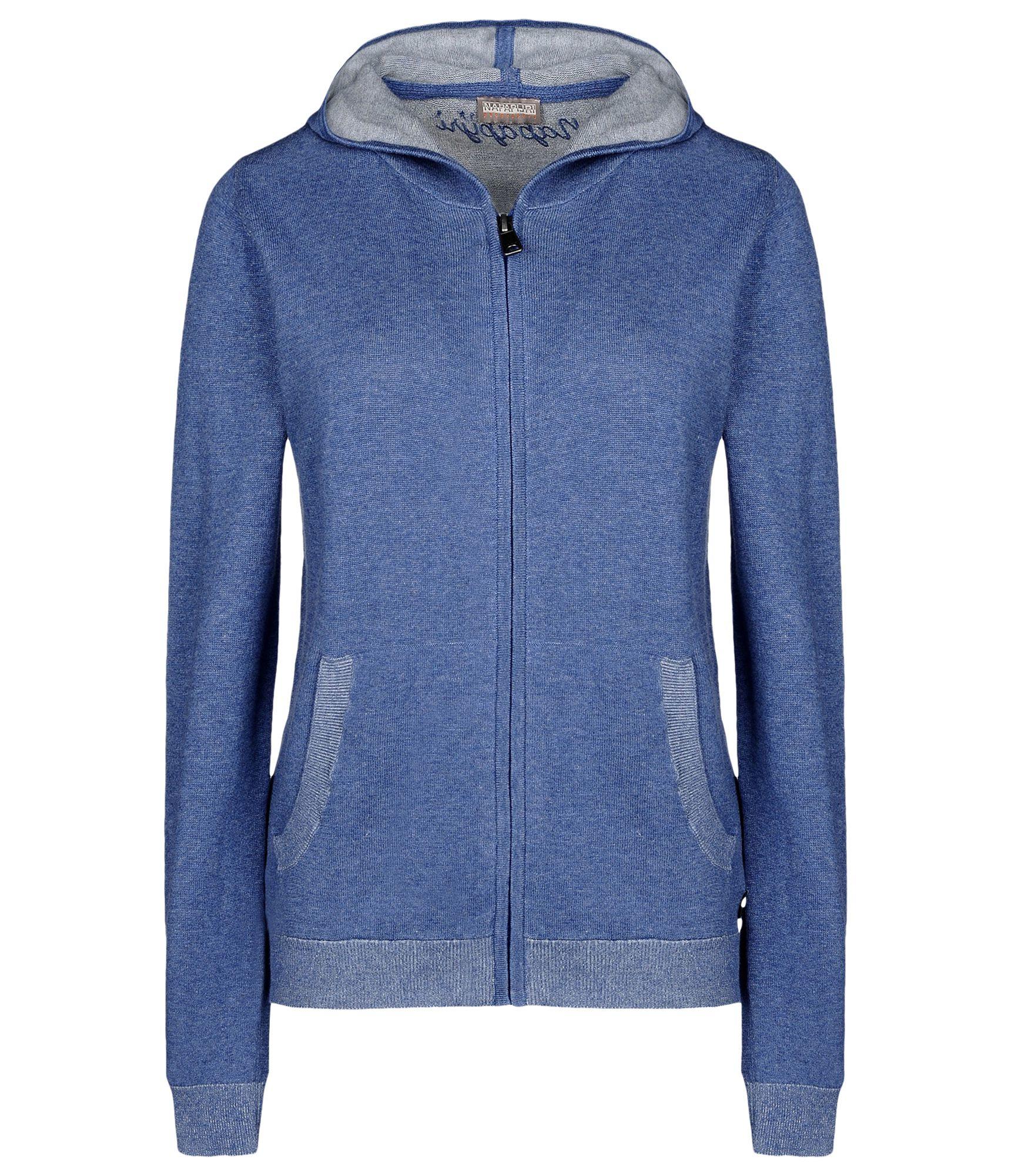 Napapijri Full Zip Fleeces in Blue