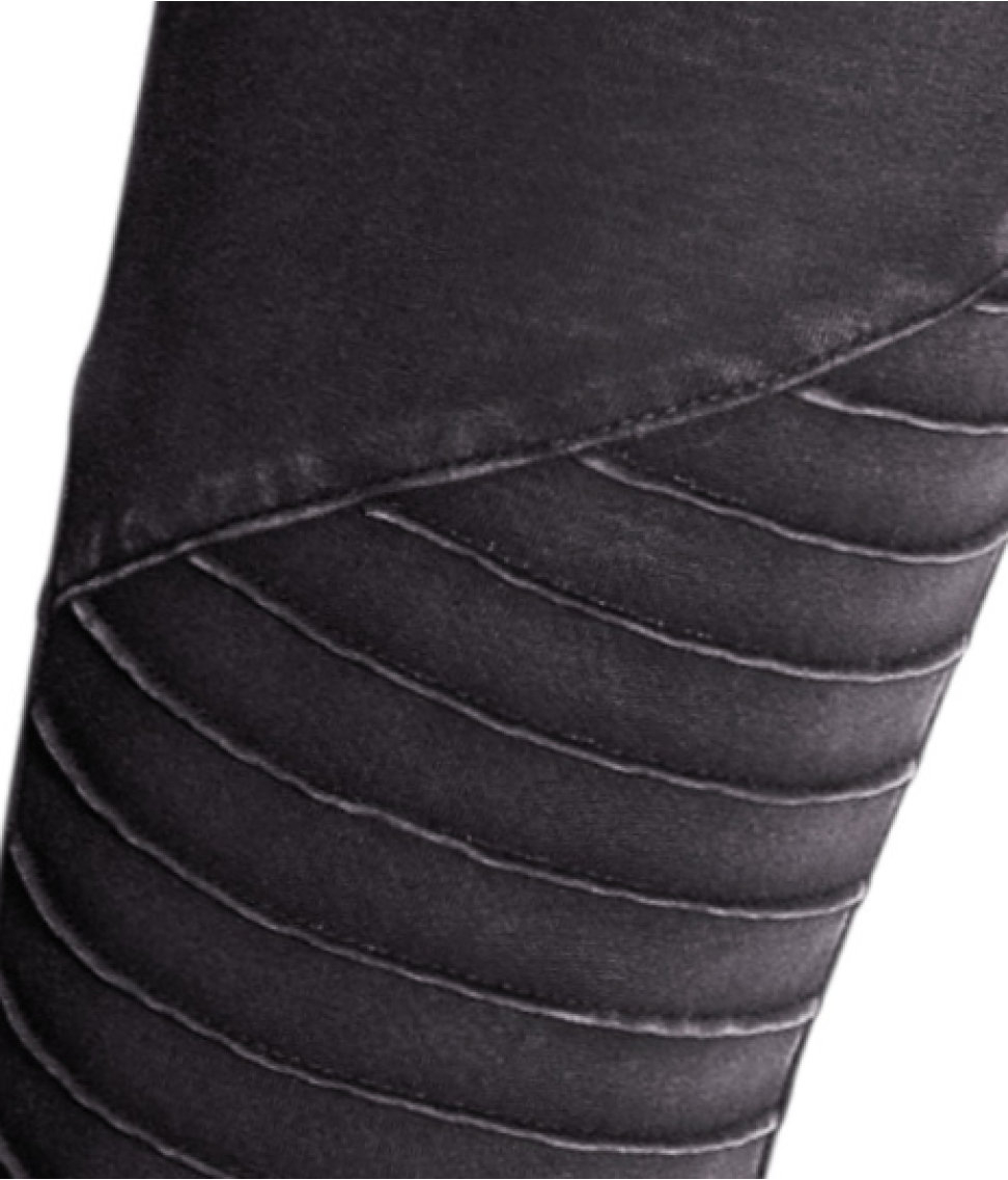 H&m Biker Leggings in Black
