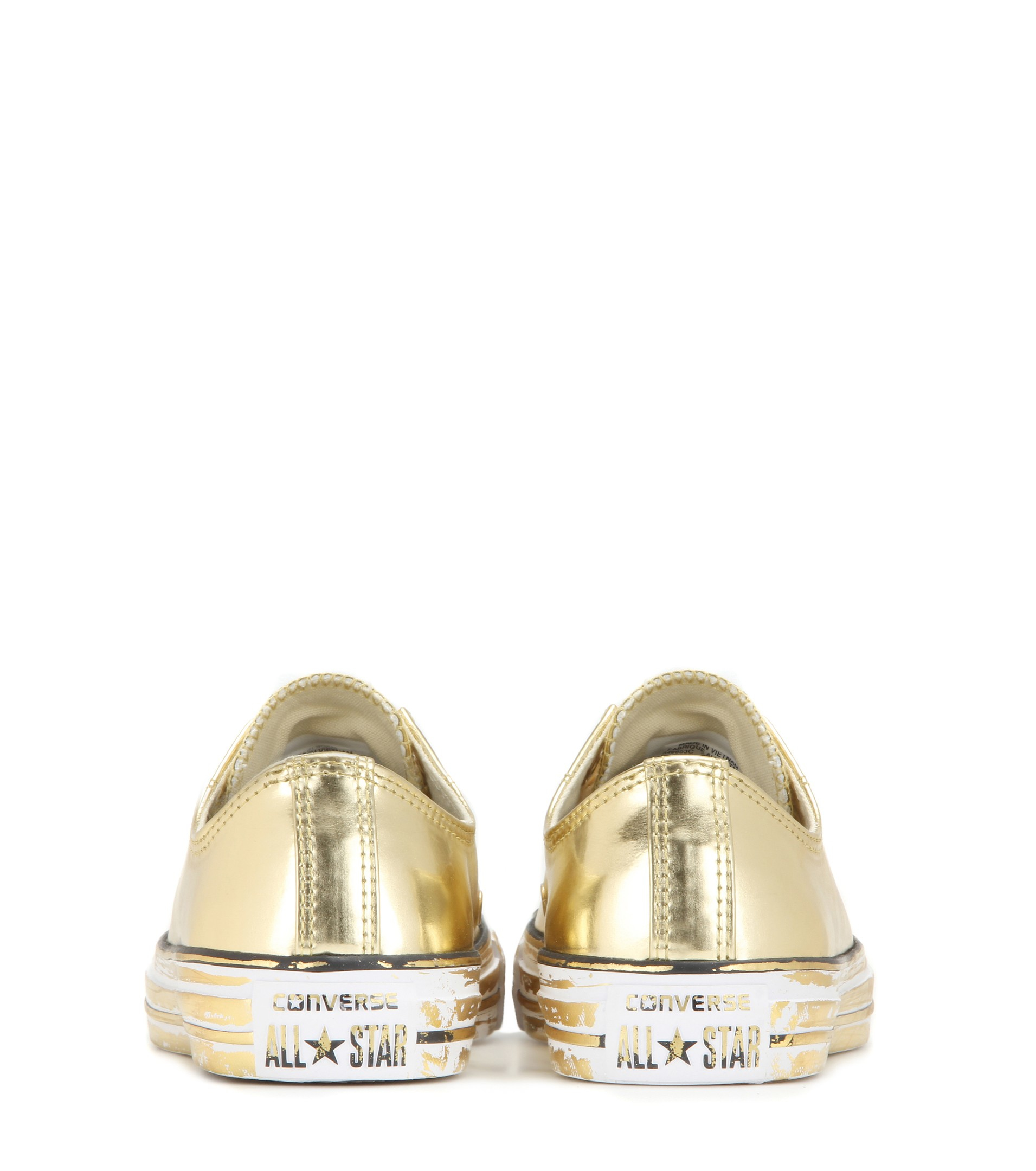 f574a26cb97 Lyst - Converse Chuck Taylor All Star Metallic Sneakers in Metallic