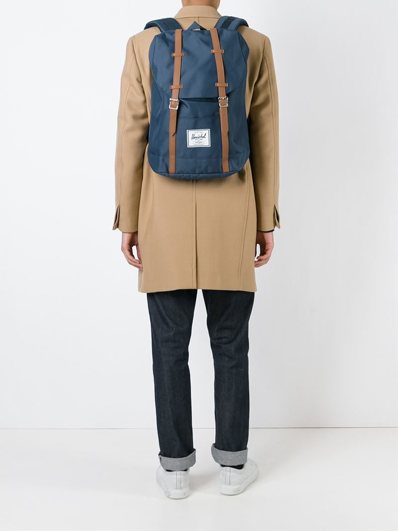 a0279dcf84 Lyst - Herschel Supply Co.  little America  Backpack in Blue for Men