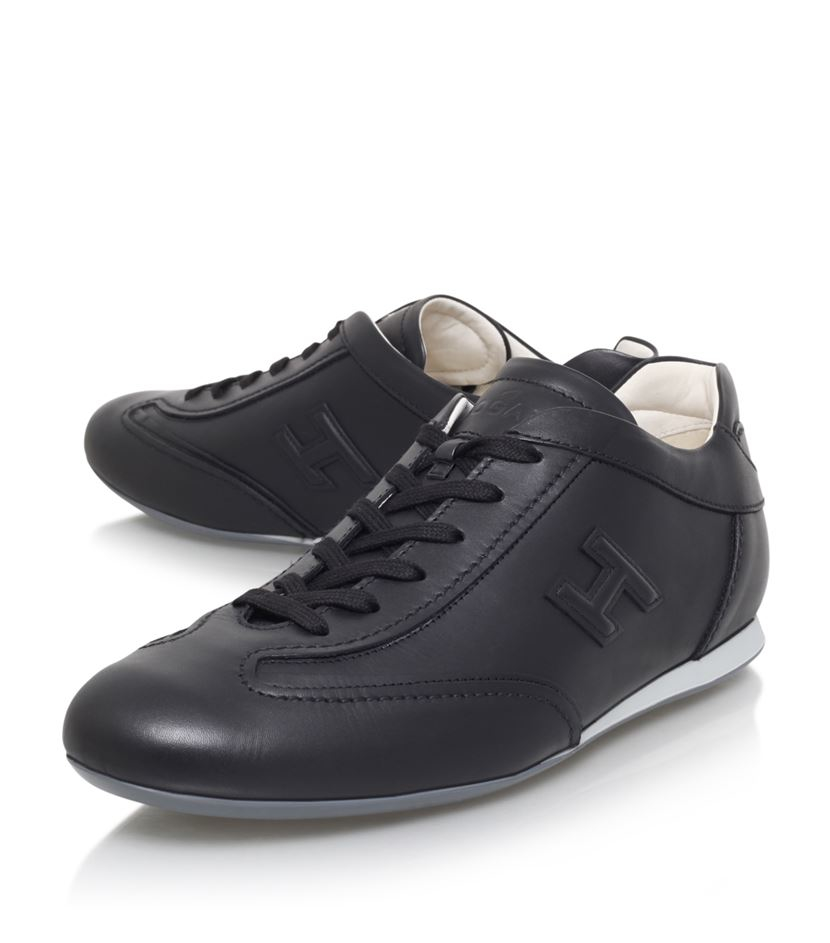 7fb656b353b Hogan Olympia Lo Pro Sneaker in Black for Men - Lyst