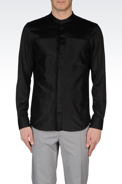 Giorgio Armani mandarin collar blouse Free Shipping Eastbay gSfD1wpLM