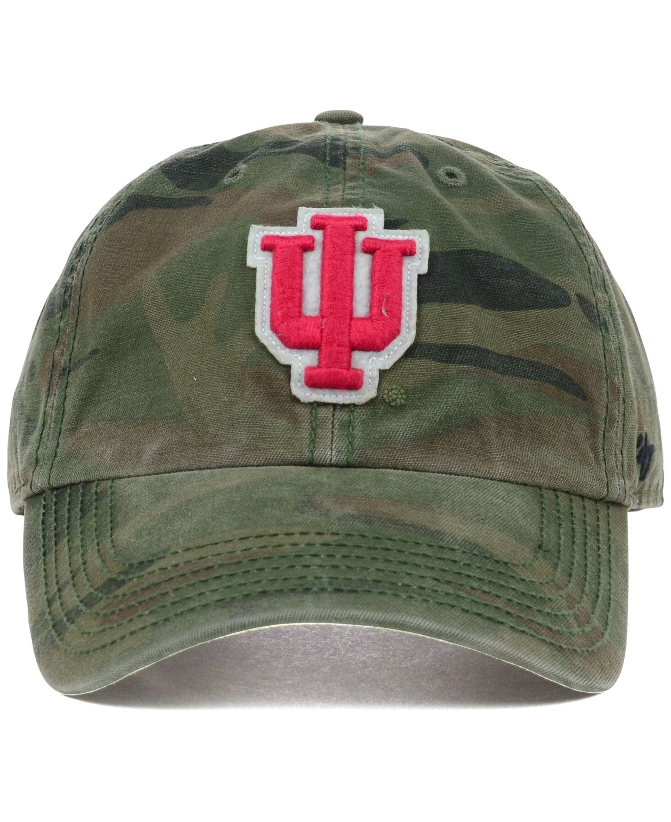 info for 0f93a 36d1d Lyst - 47 Brand Indiana Hoosiers Oht Movement Clean Up Cap in Green ...