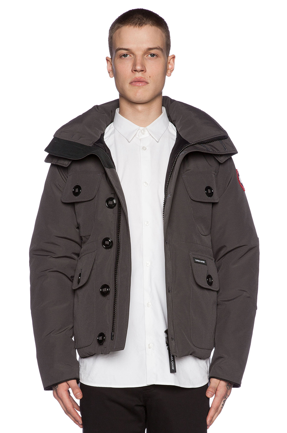 Canada Goose coats outlet shop - Canada goose Selkirk Parka in Gray for Men (Graphite) | Lyst