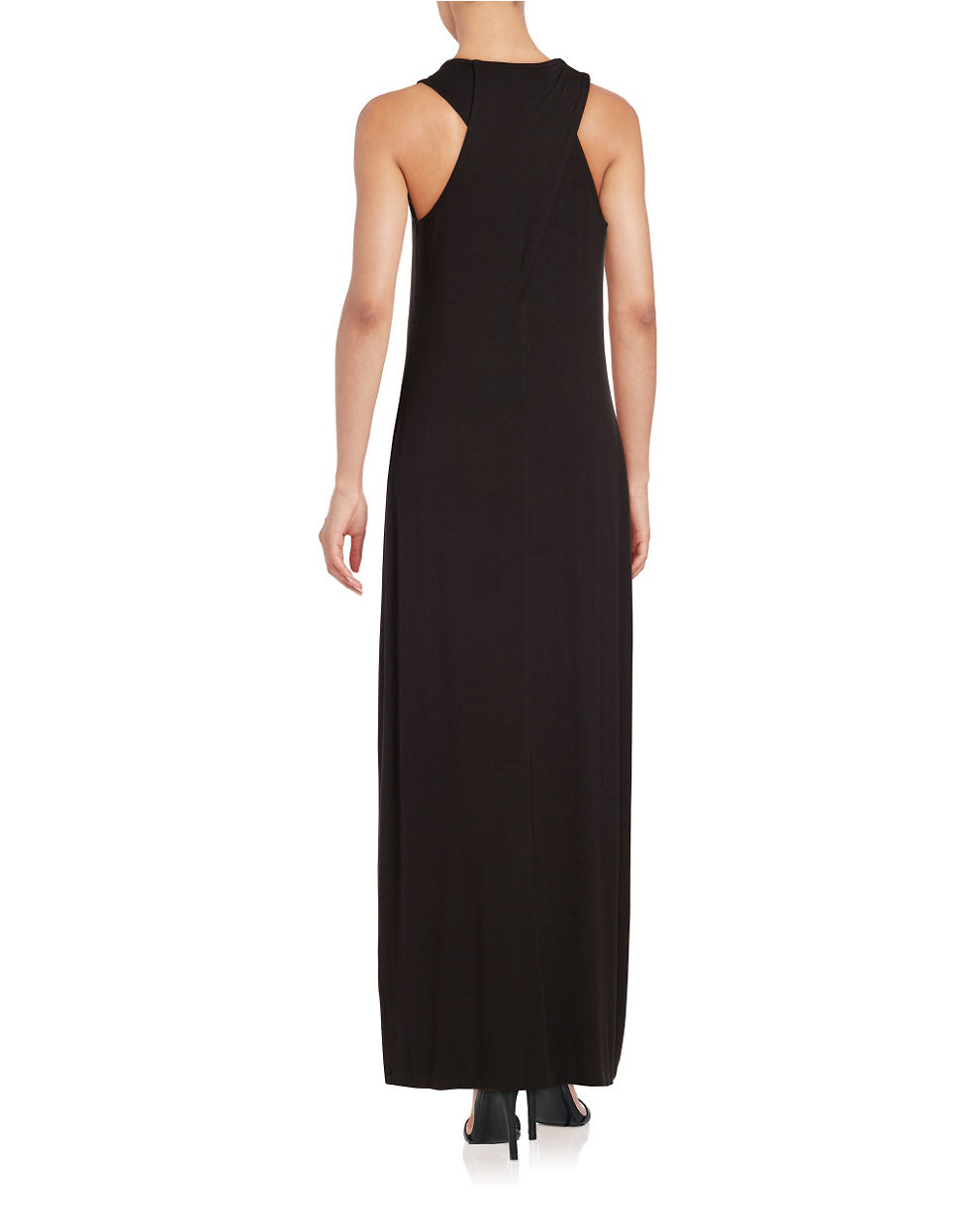 Lord and taylor black maxi dress