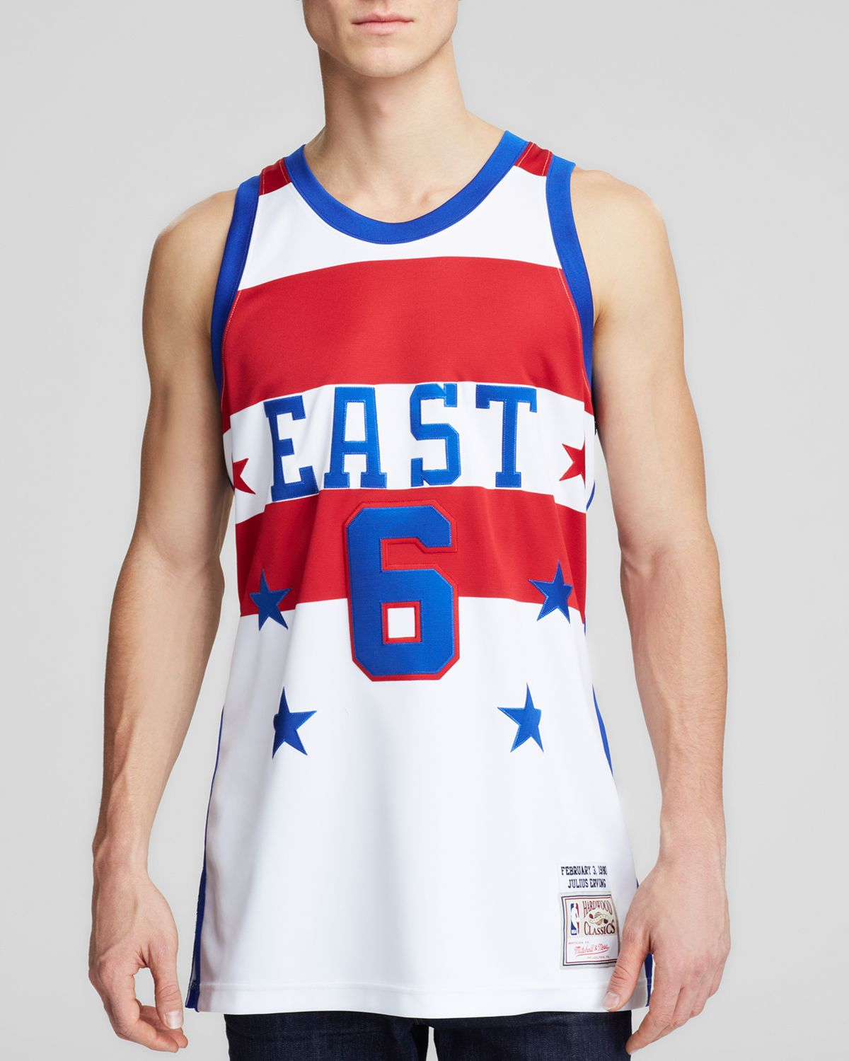 fc6cee93e19 ... low cost white julius erving philadelphia 76ers adidas hardwood  classics swingman jersey royal blue mitchell ness