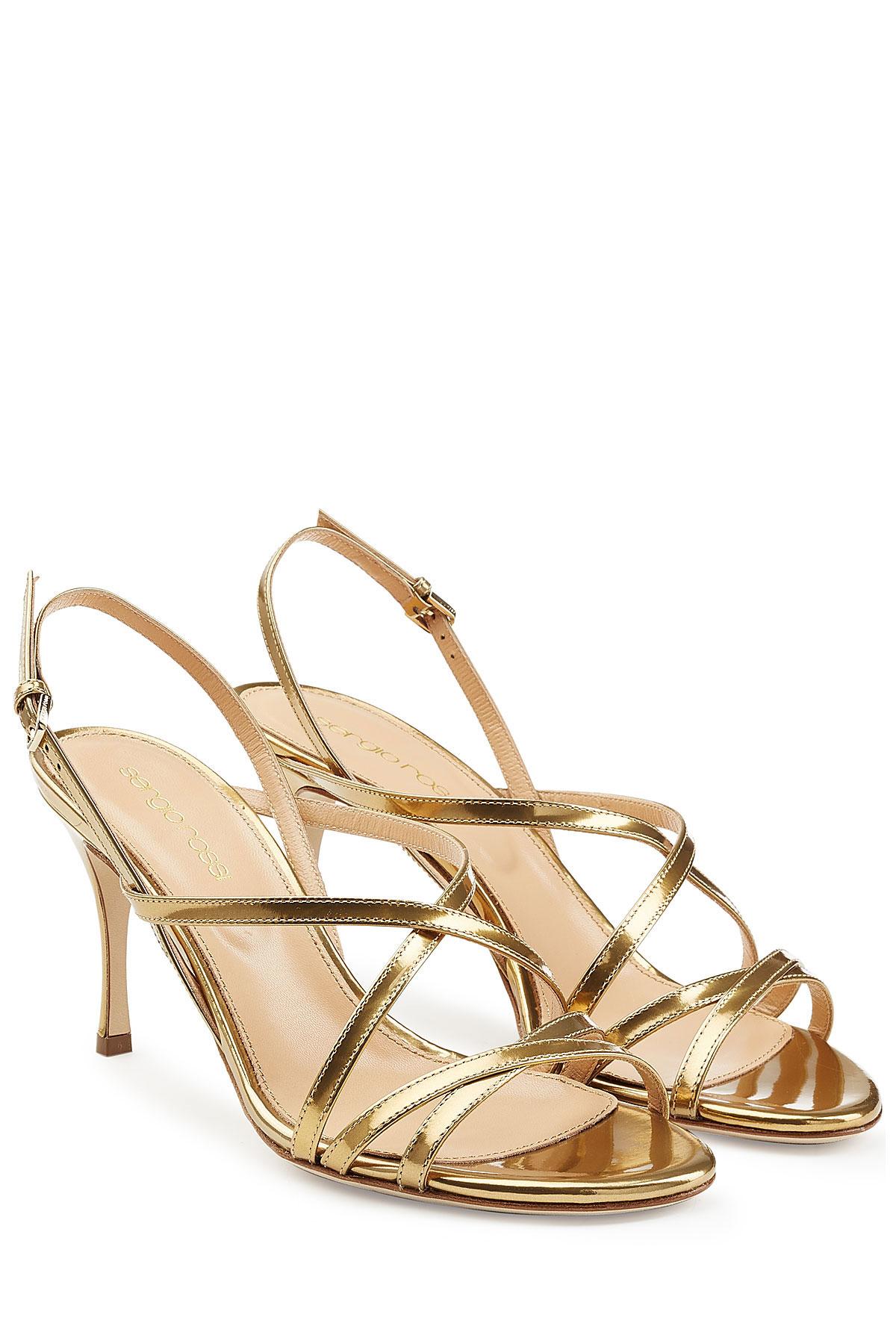 Womens sandals mid heel - Gallery