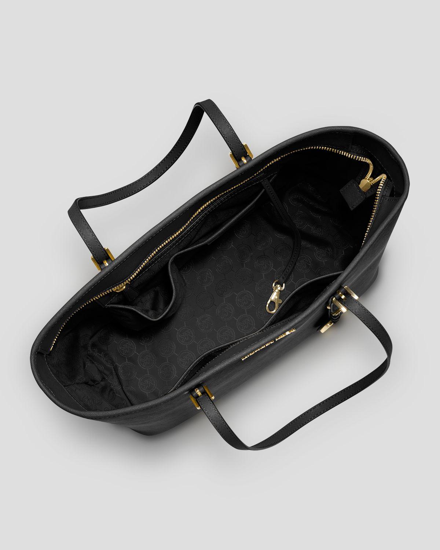 michael michael kors tote jet set travel top zip in red. Black Bedroom Furniture Sets. Home Design Ideas