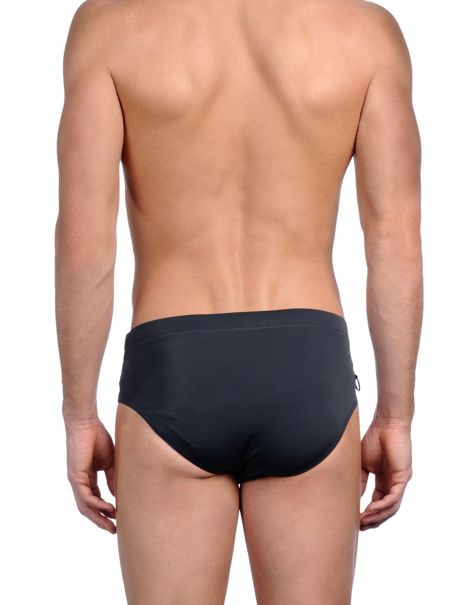 Dior homme Bikini Bottoms in Gray for Men