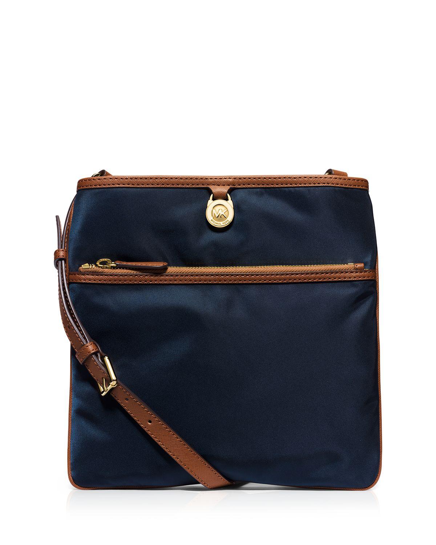 ad6c10474675 MICHAEL Michael Kors Crossbody - Kempton Large Pocket in Blue - Lyst