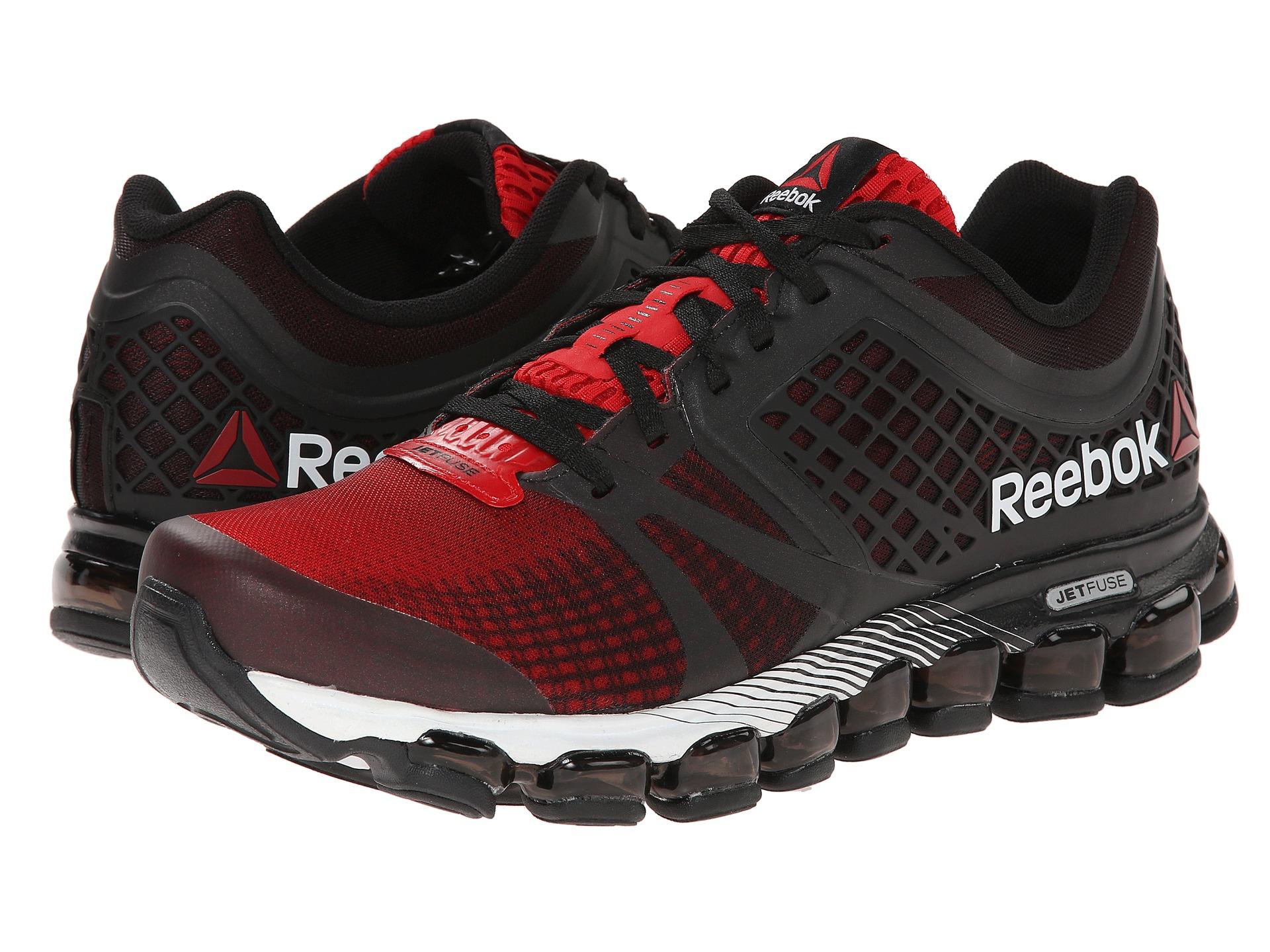 classic fit 8aad2 5c997 ... reebok jetfuse black red ...