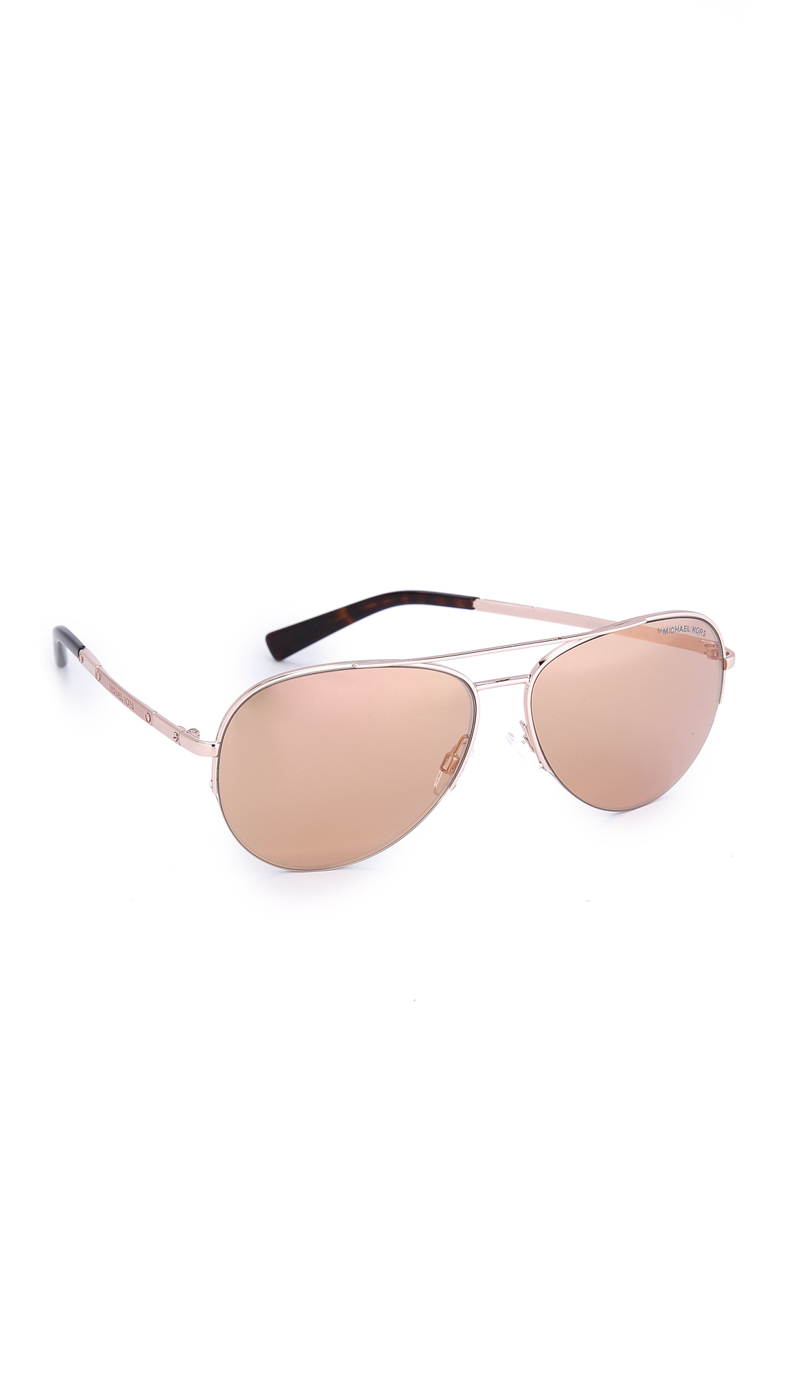 1f9a143d6a Michael Kors Gramercy Sunglasses - Rose Gold rose Gold Flash in ...