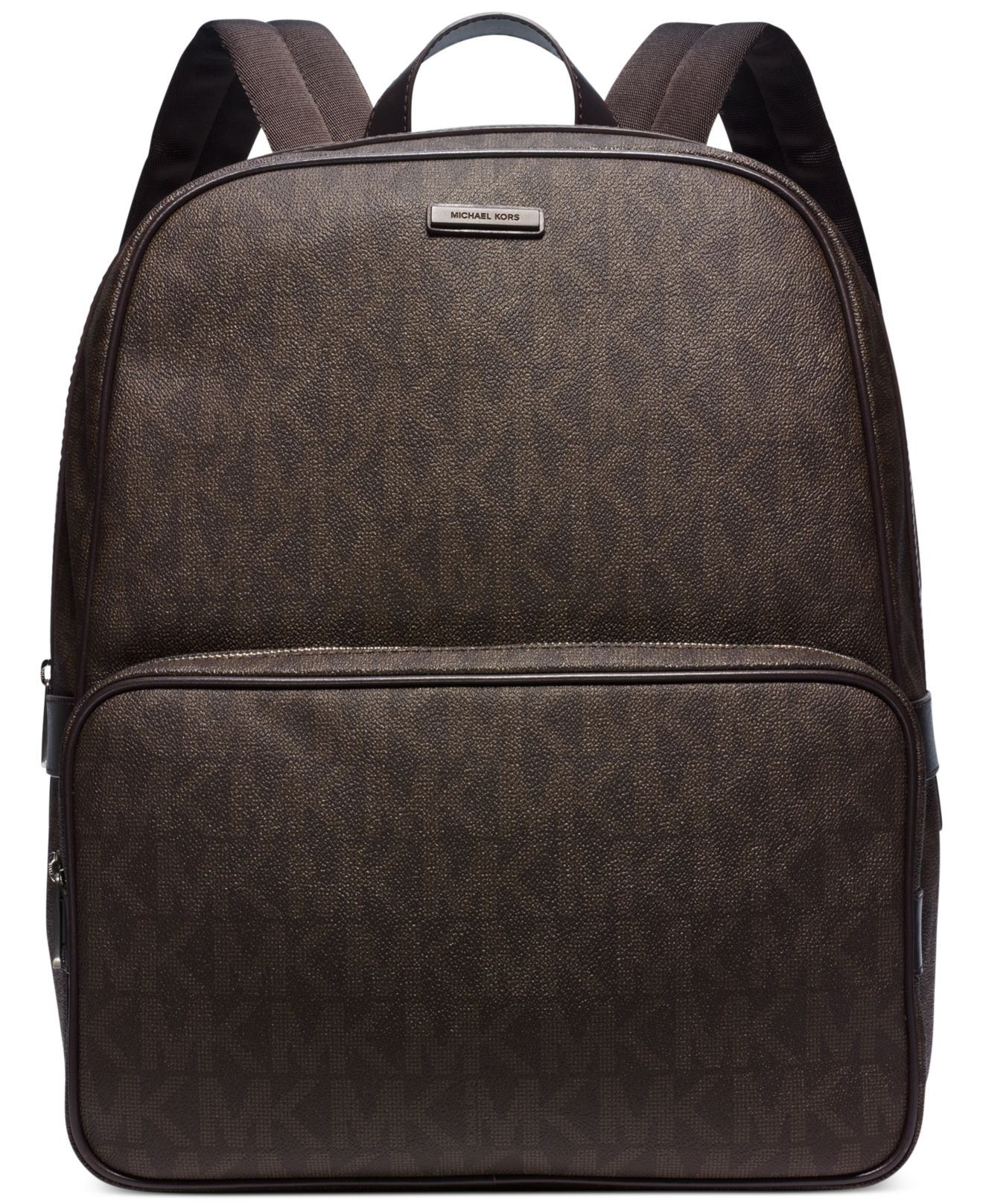 Lyst Michael Kors Jet Set Shadow Backpack In Brown For Men