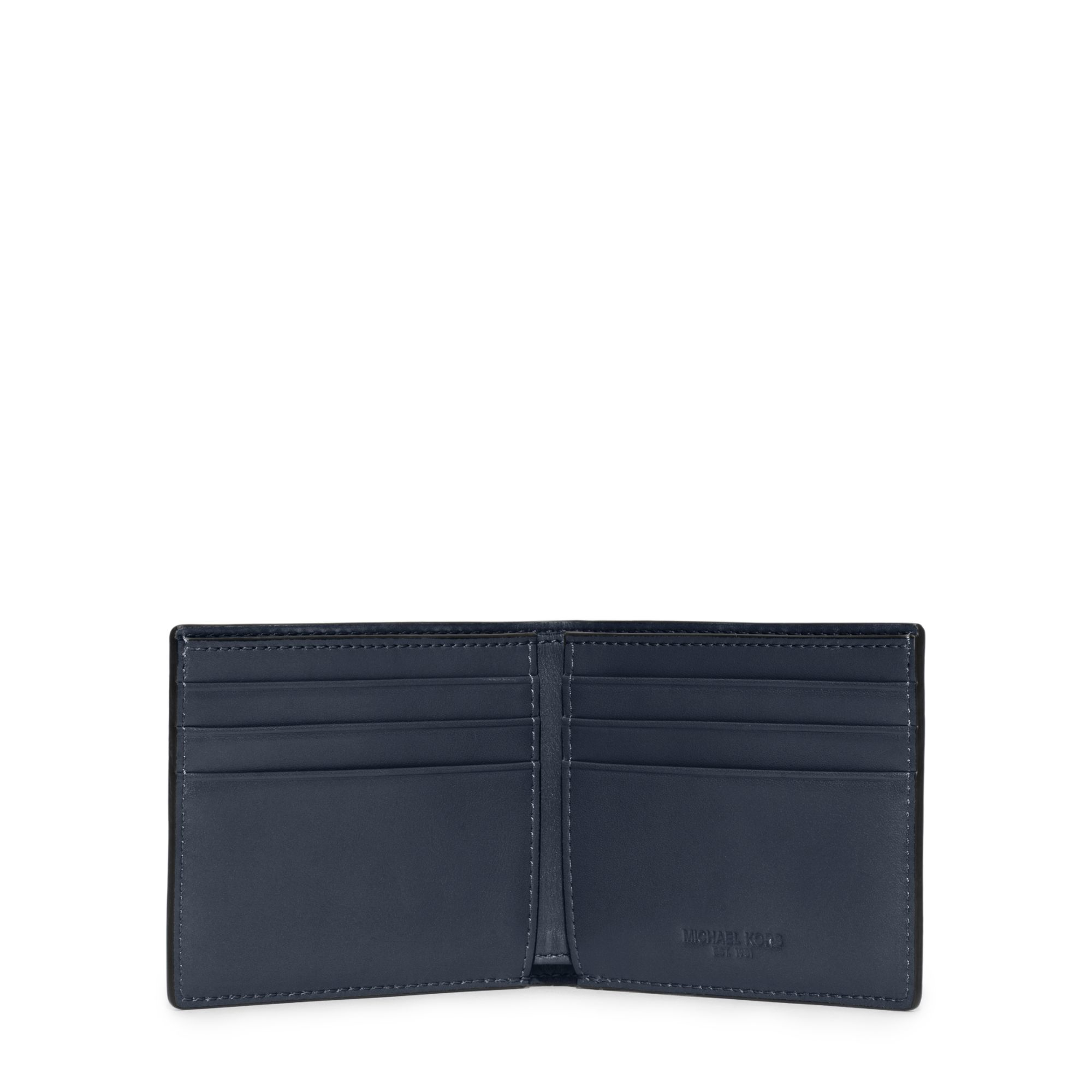 37428714dd57 Michael Kors Mens Harrison Slim Leather Billfold Wallet | Stanford ...