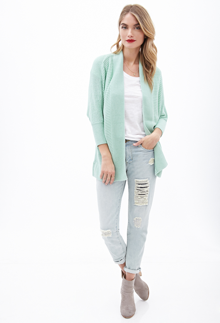 Forever 21 Contemporary Longline Batwing Cardigan You've Been ...