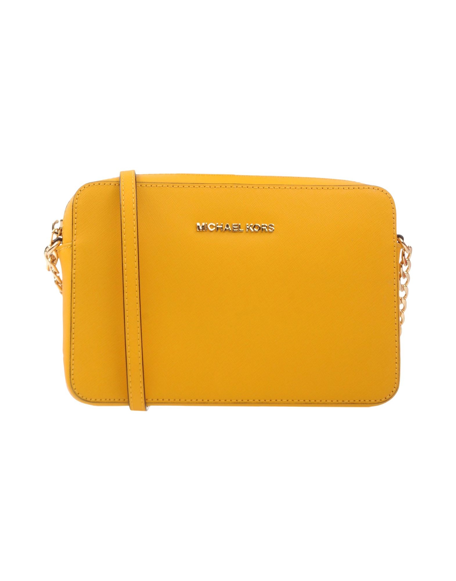 michael michael kors handbag in yellow lyst rh lyst com au