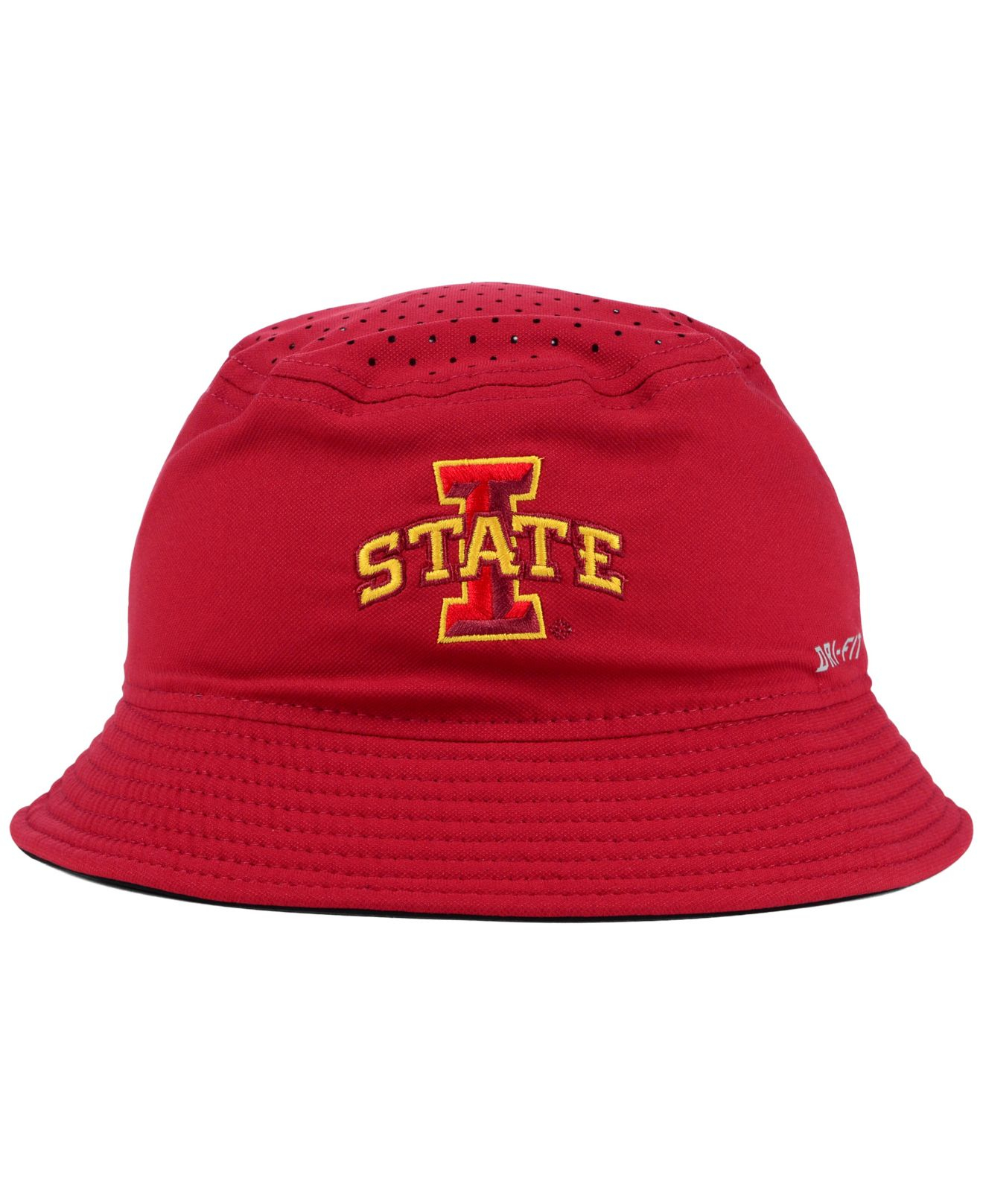 411f2fcfd91 ... spain lyst nike iowa state cyclones vapor bucket hat in yellow for men  47ea3 a0297