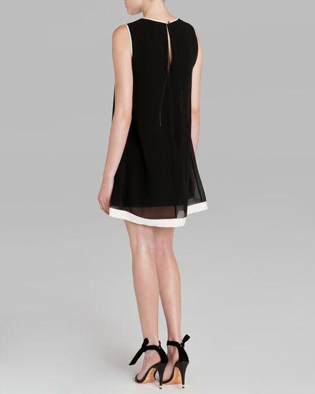 Ted Baker Dress Josa Bow Detail In Black Lyst