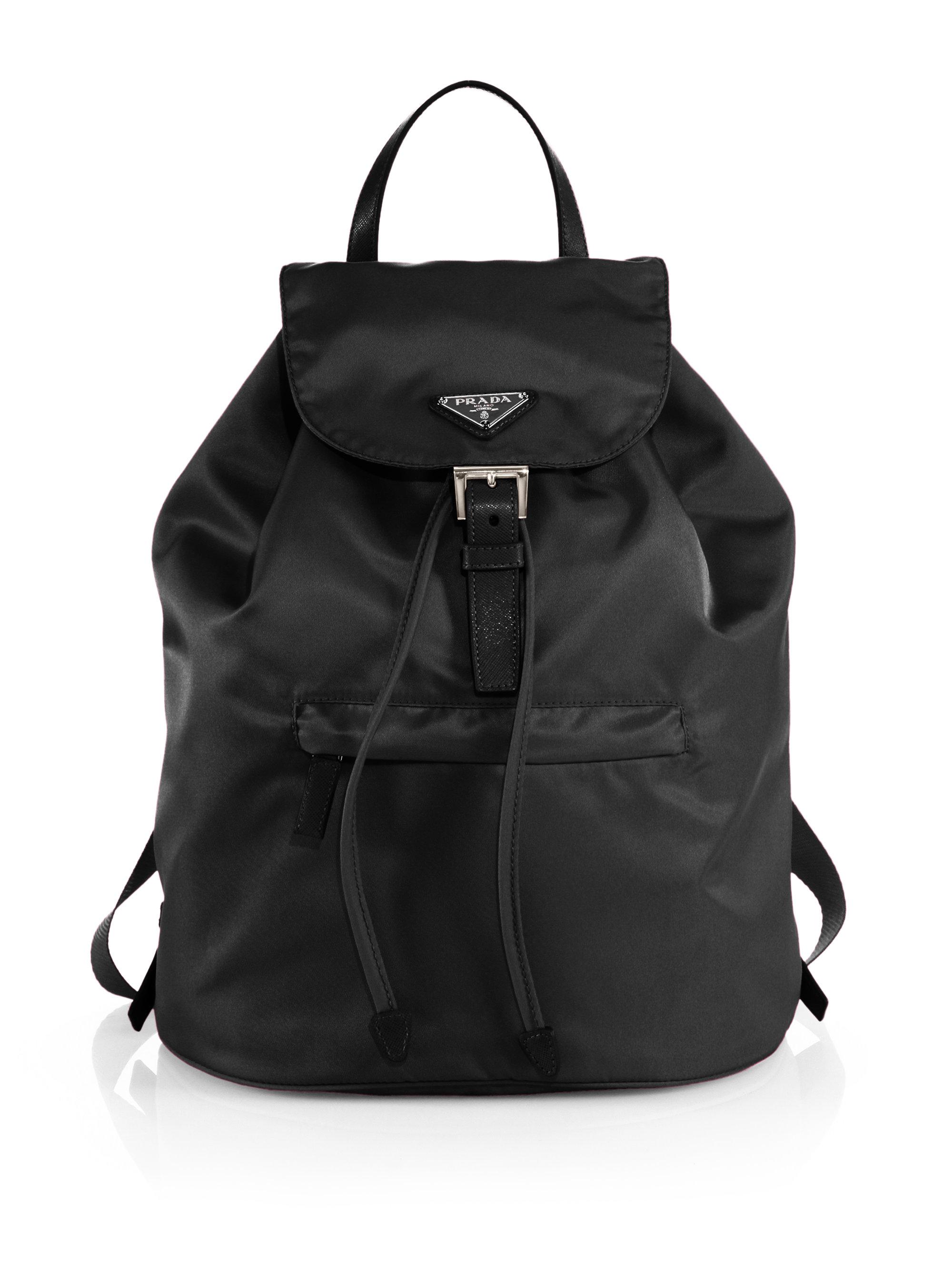 prada backpack chalk white