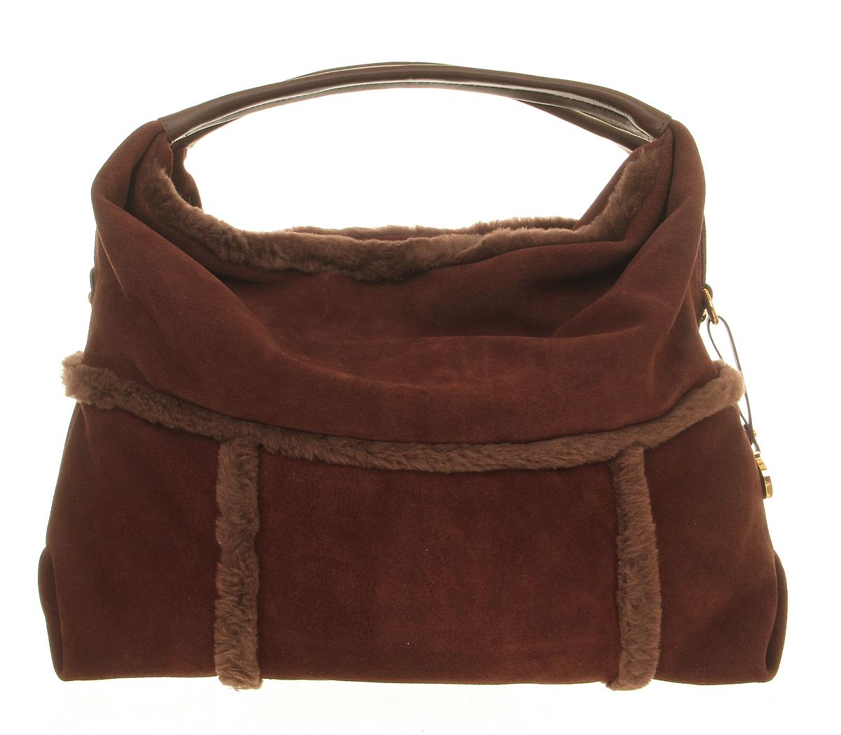 Ugg Quinn Hobo Bag in Brown | Lyst