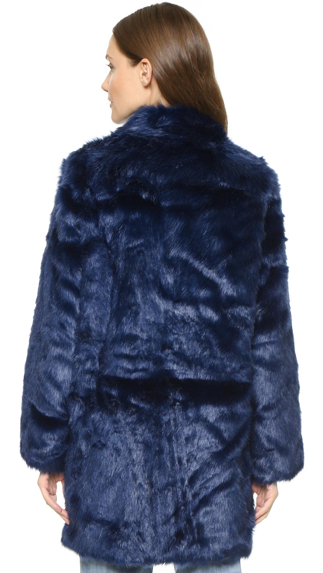 Lyst - Won Hundred Marian Faux Fur Coat