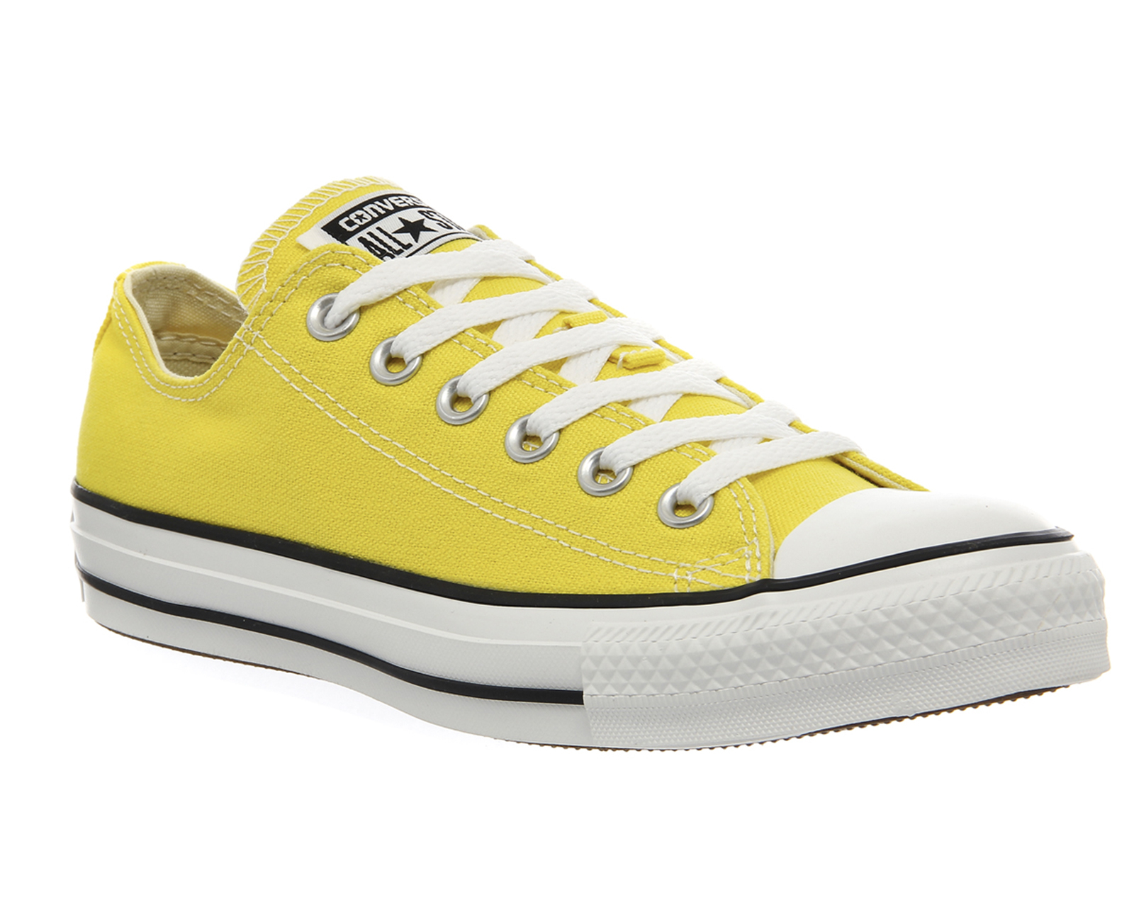 converse all star low in yellow citrus lyst. Black Bedroom Furniture Sets. Home Design Ideas