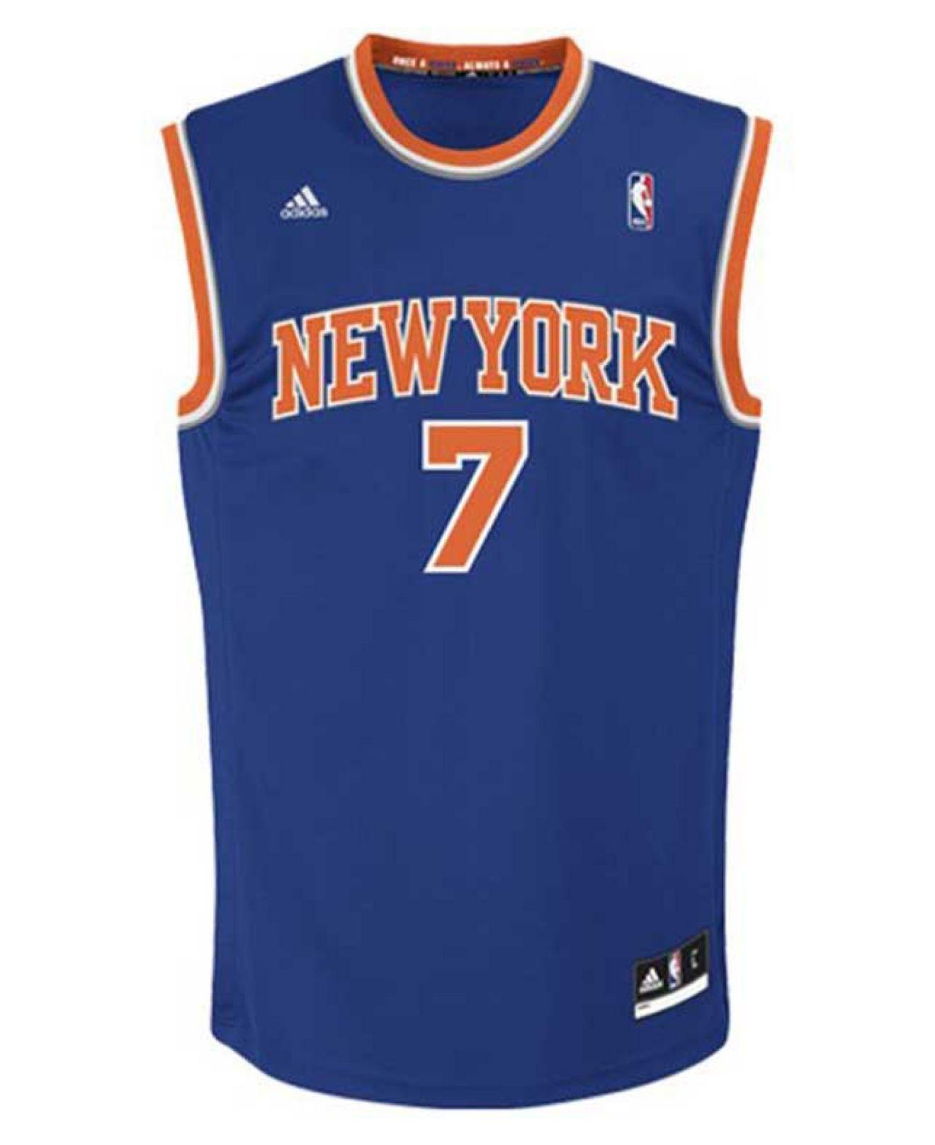 f1b282efc Lyst - adidas Kids  Carmelo Anthony New York Knicks Swingman Jersey ...