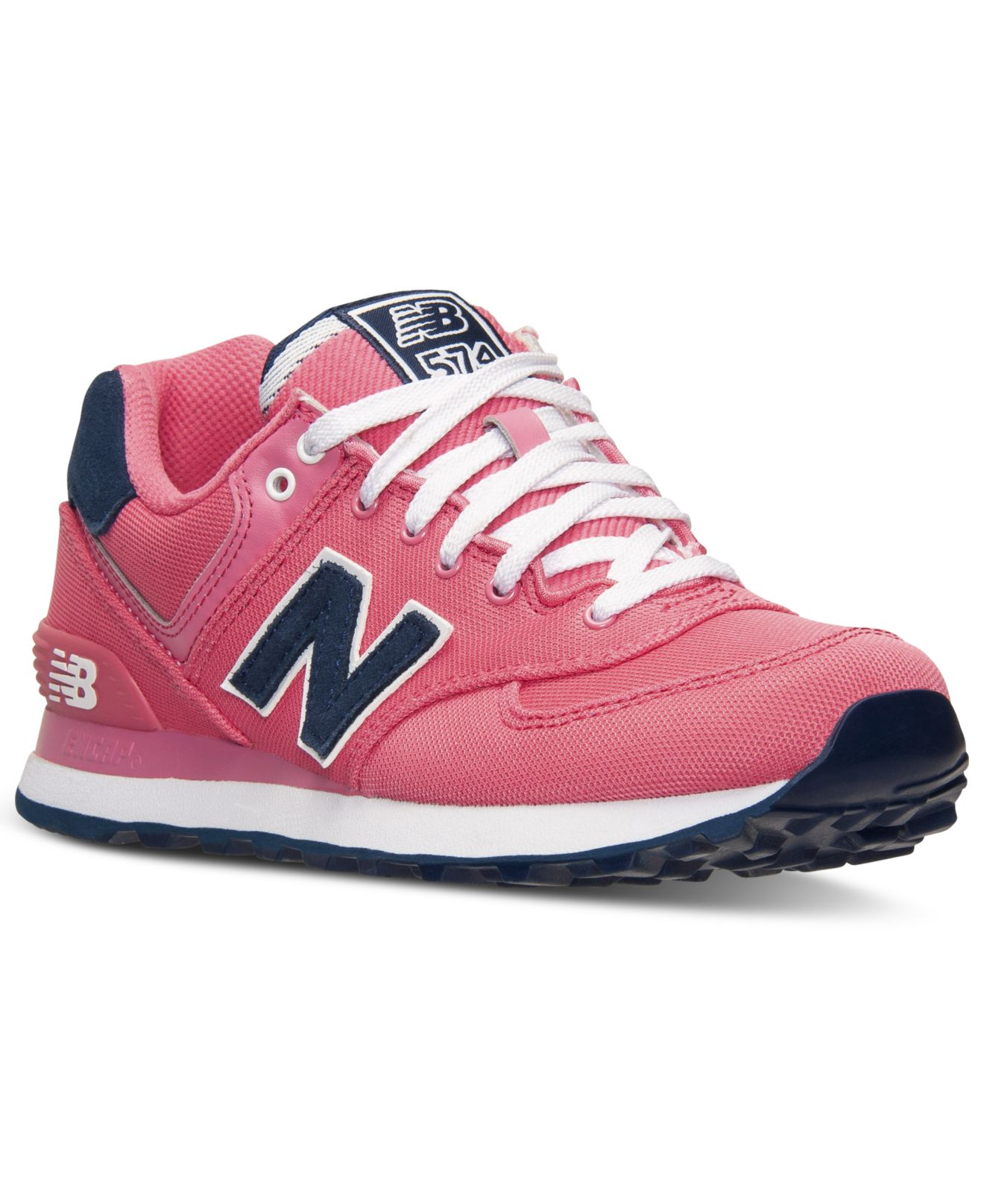 new balance 574 womens leather