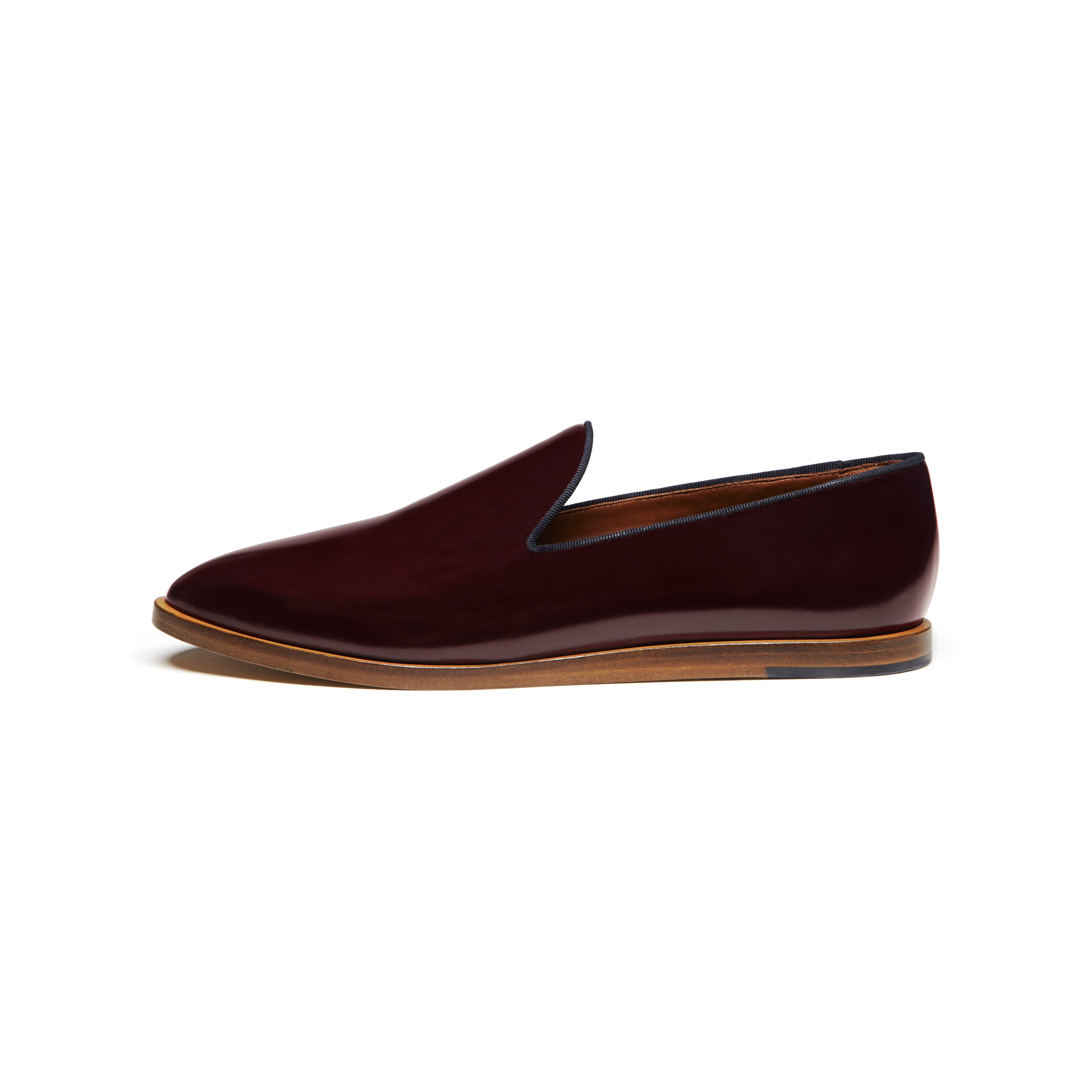 eecc4daadac Lyst - Mulberry Loafer in Red