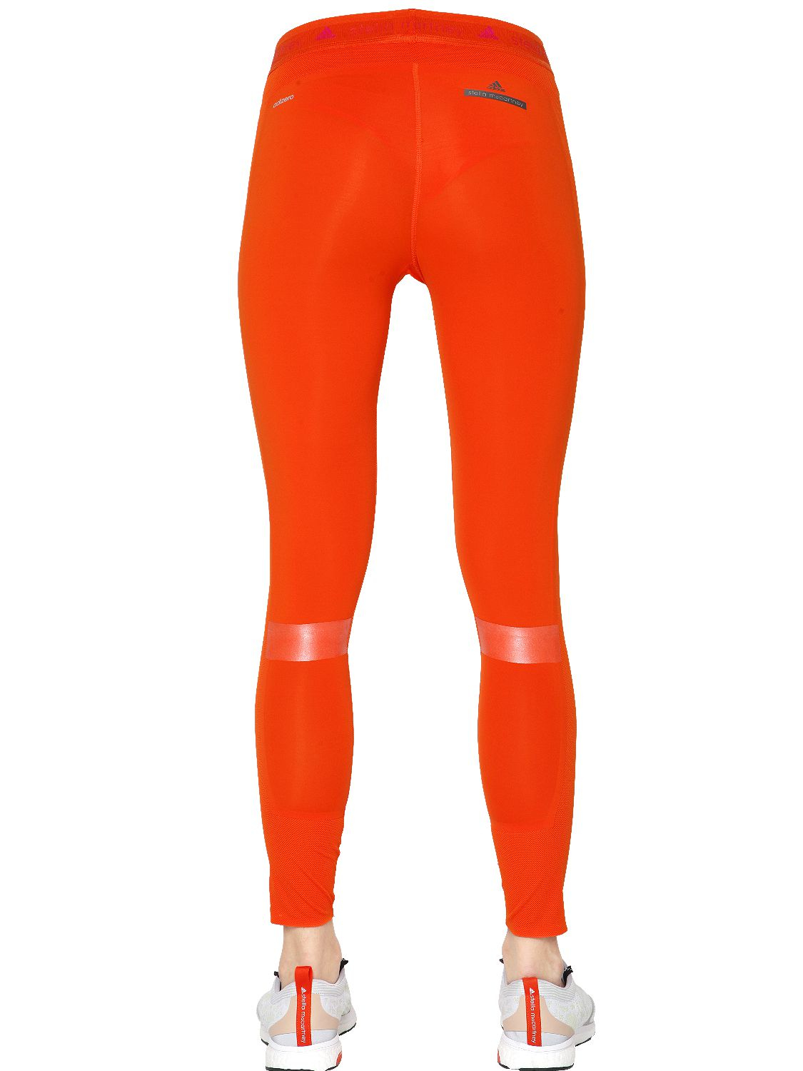 free shipping be8e0 5709d Lyst - adidas By Stella McCartney Adizero Tight Fit Running Leggings ...