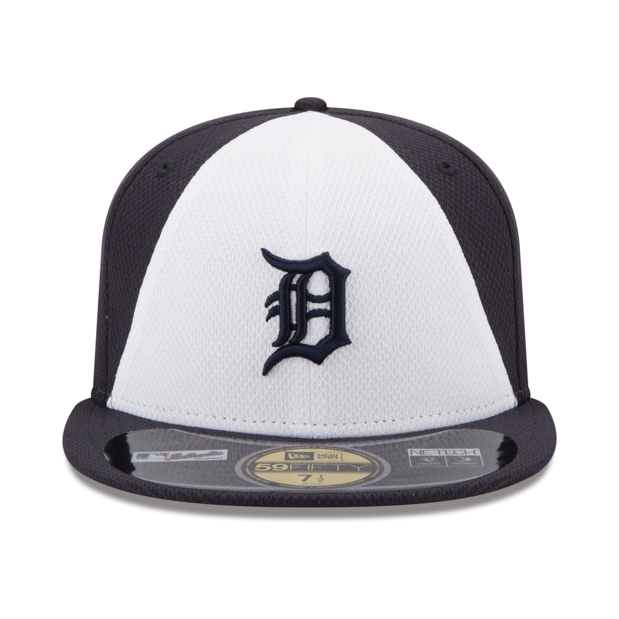 newest 16a33 6840c Lyst - KTZ Detroit Tigers All Star Game Patch 59fifty Cap in White ...