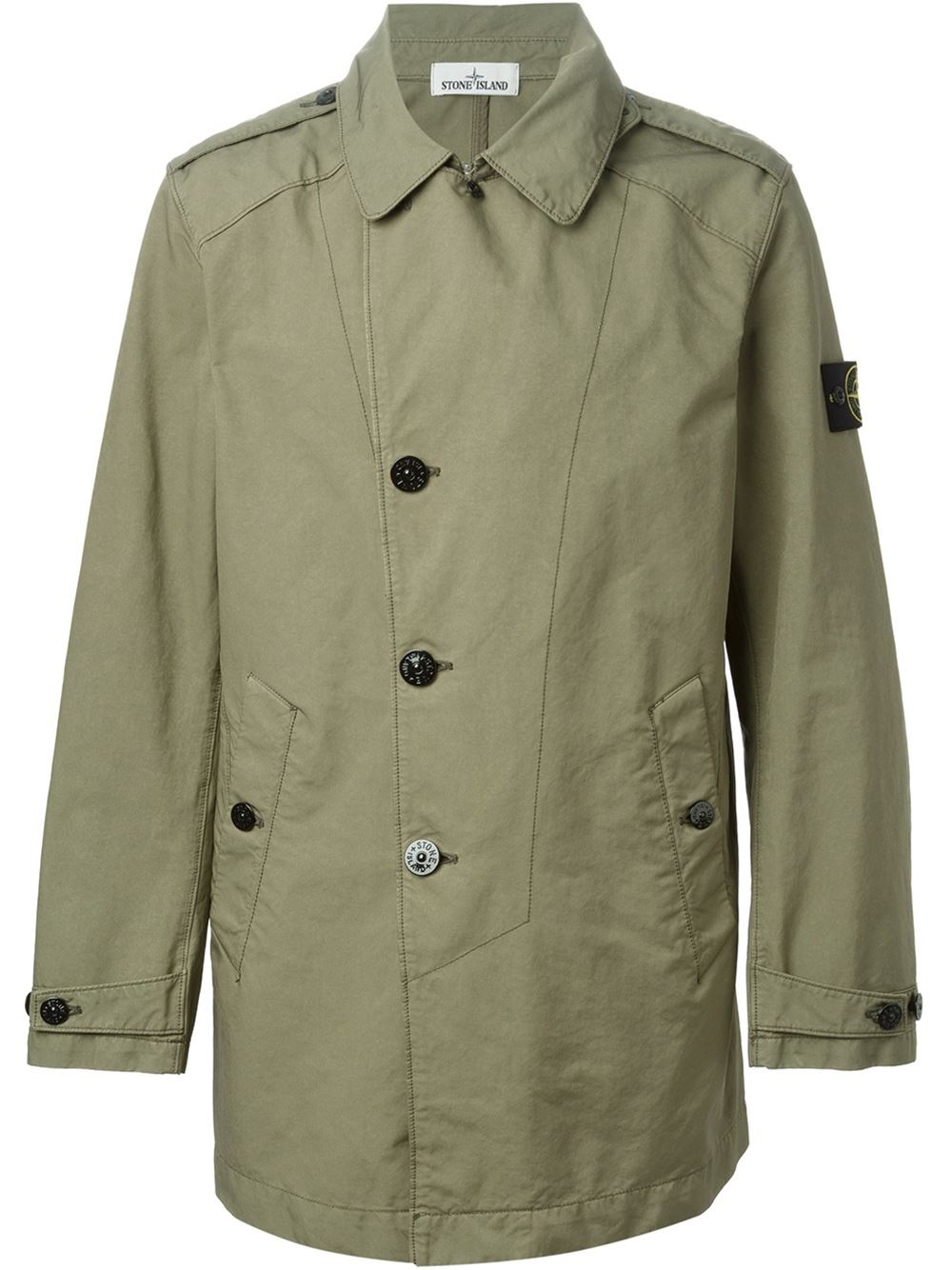 Stone island Military Jacket in Green for Men - Lyst