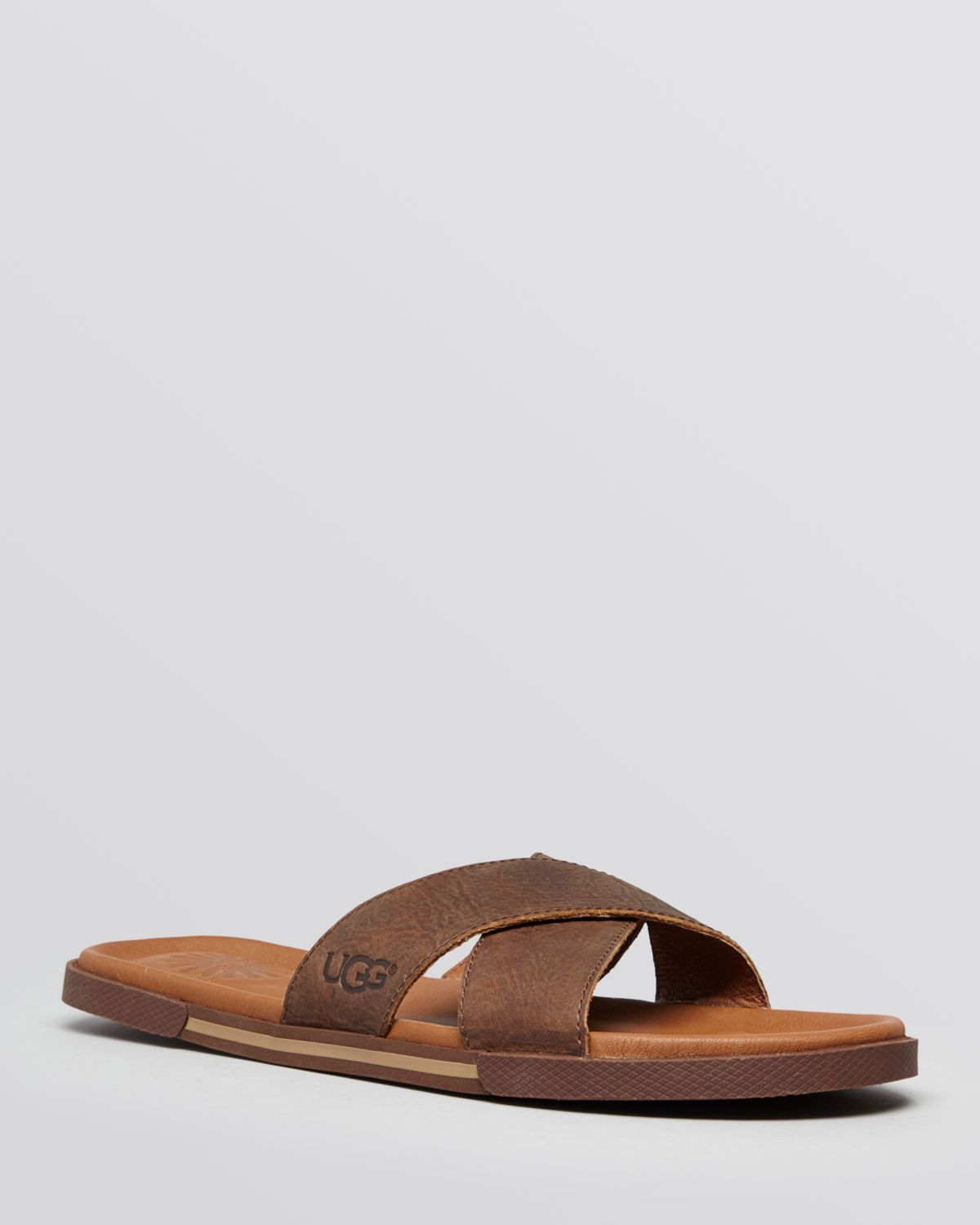 f043ccd2c72b Lyst - UGG Ithan Slide Sandals in Brown for Men