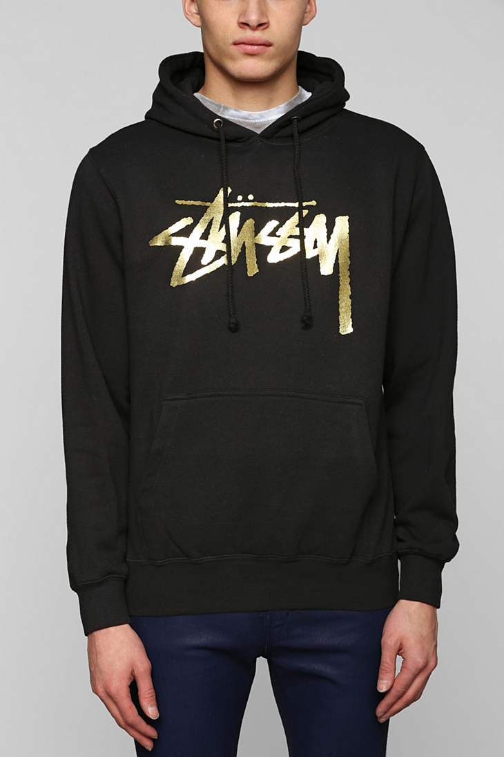 Black and gold hoodies