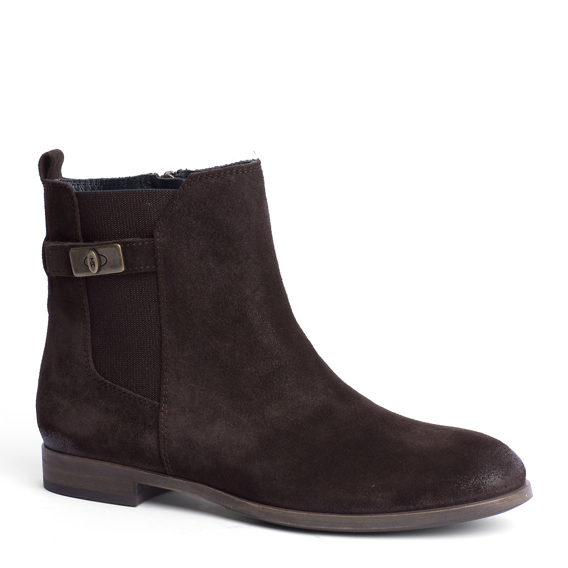 tommy hilfiger billie ankle boots in brown for men coffee. Black Bedroom Furniture Sets. Home Design Ideas