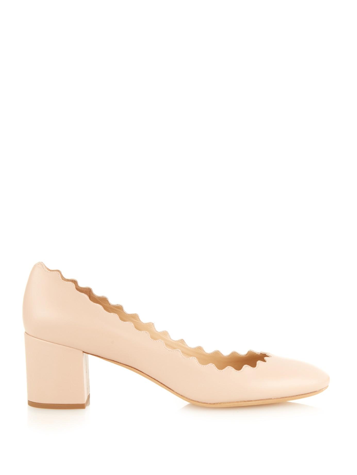 Chloe Shoes | Chloe Lauren Ankle Strap Suede Block Heel
