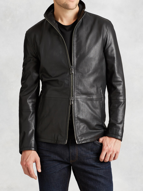 Varvatos leather jacket