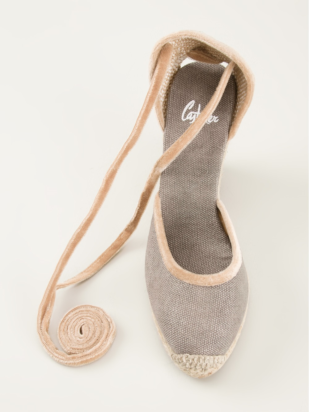 Lyst Castaner Wedge Espadrilles In Natural