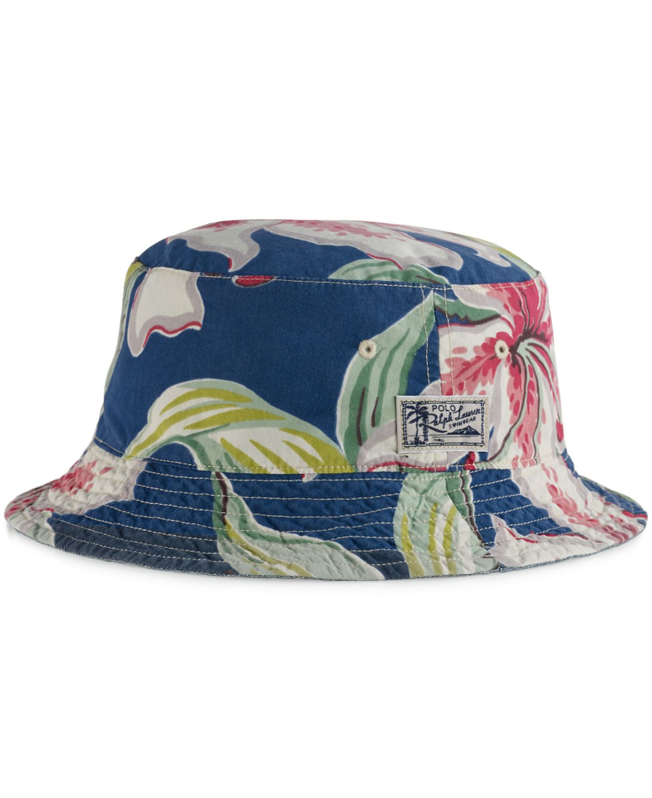 24bffe508dd Lyst Polo Ralph Lauren Big And Tall Reversible Tropical Bucket Hat