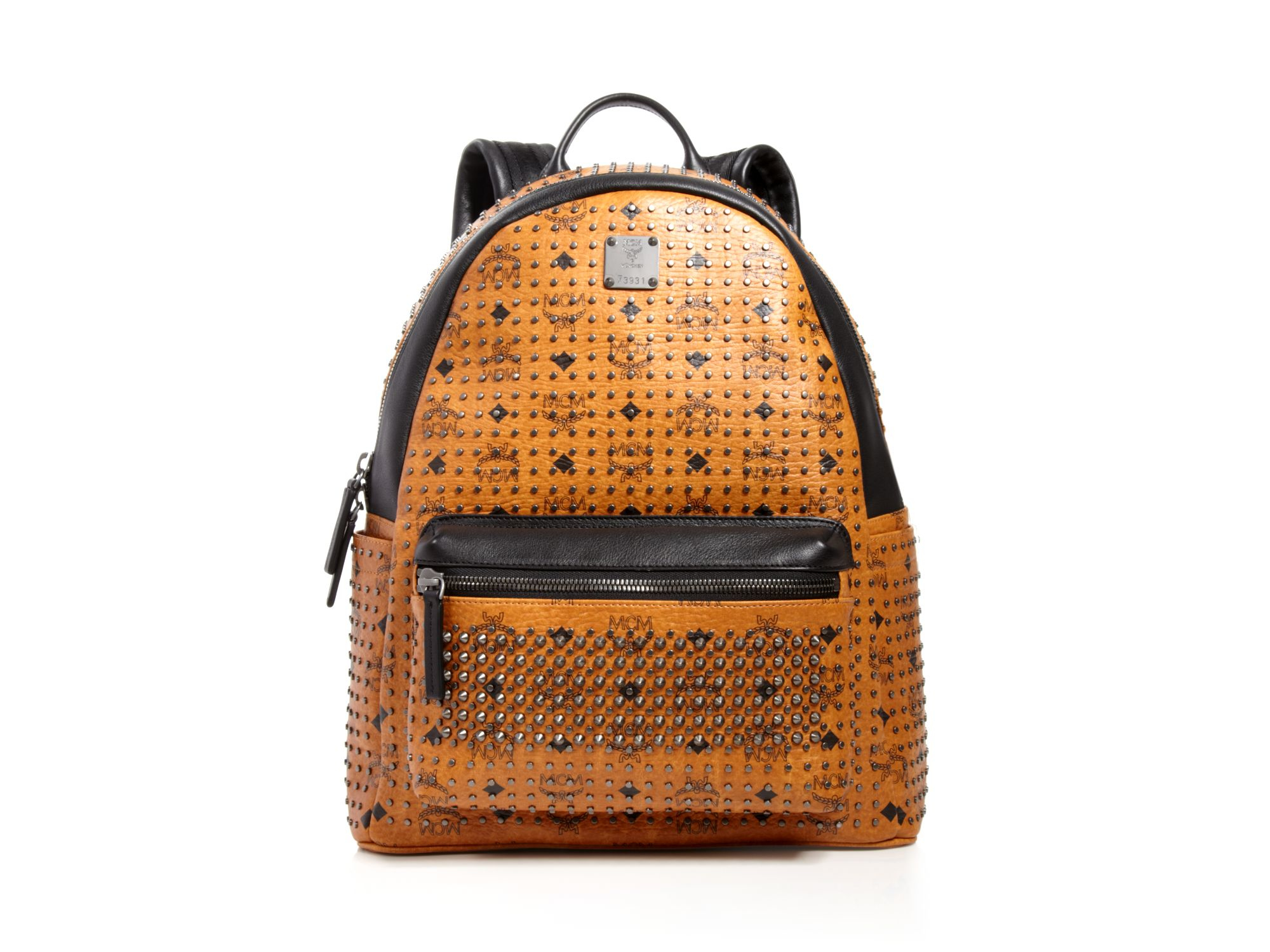 6e9552f9f47 Lyst - MCM Stark Special Backpack in Brown for Men