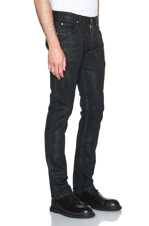 Lyst Helmut Lang Straight Leg Jeans In Black