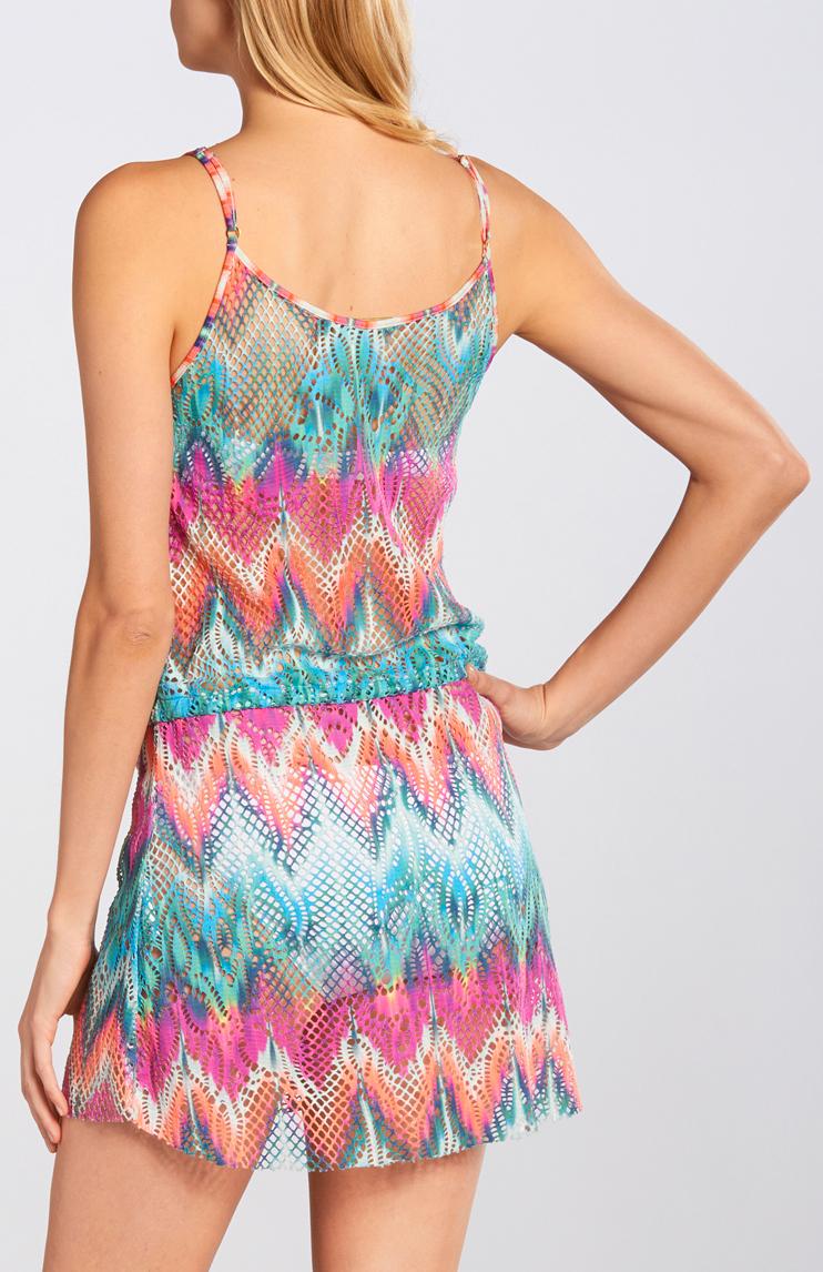 Cia Marítima 2015 Collection: Cia.marítima Maia Crochet Drawstring Dress