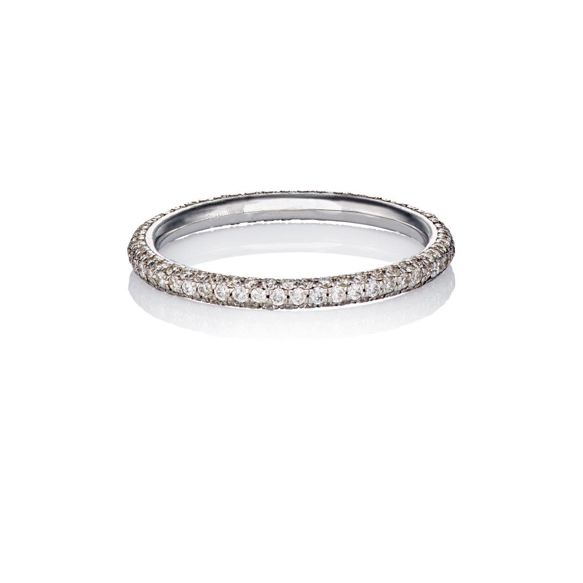 Ileana Makri Womens Half Crown Ring JxUrg