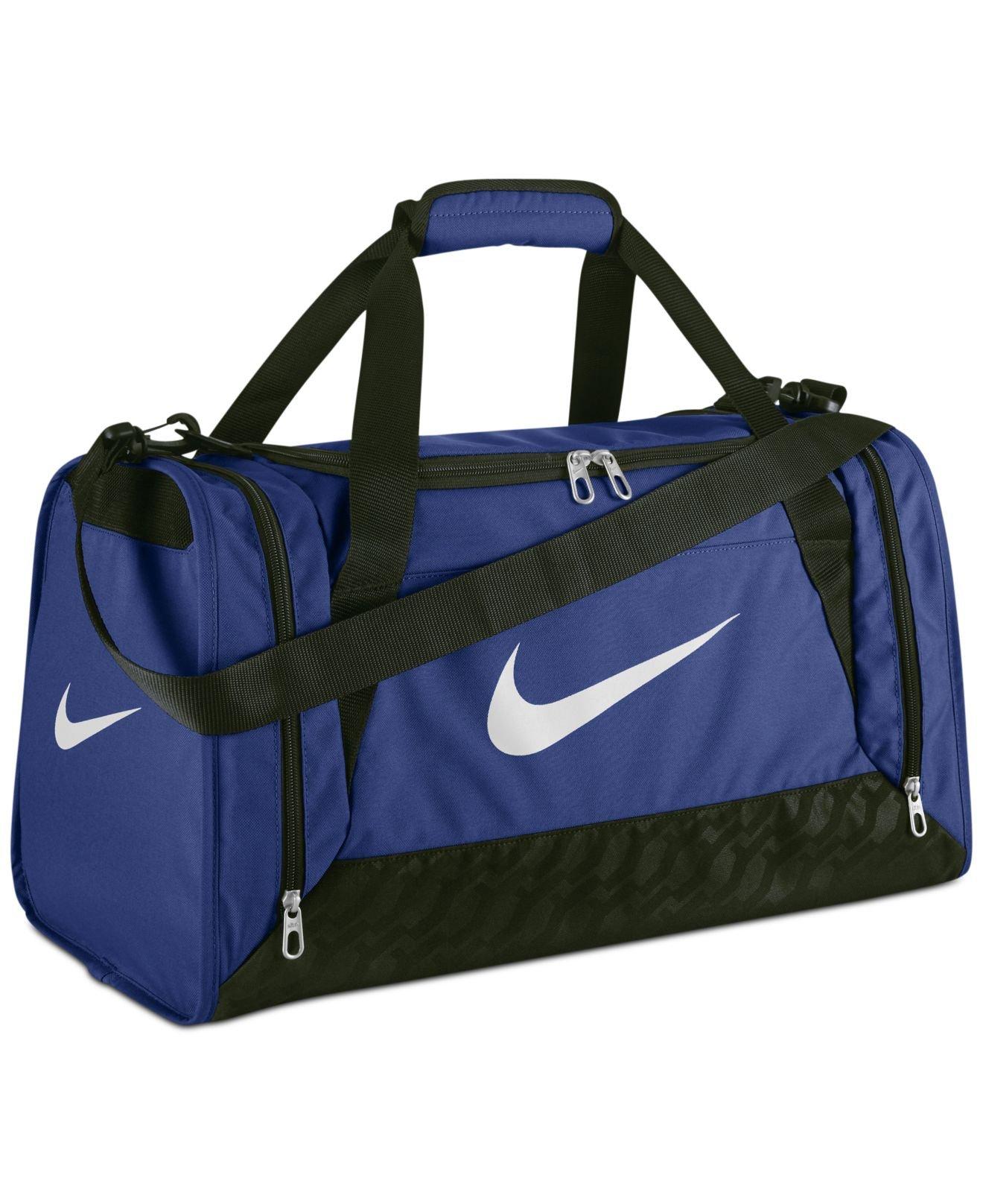 3d6088cd16 Lyst - Nike Brasilia 6 Small Duffle Bag in Blue for Men