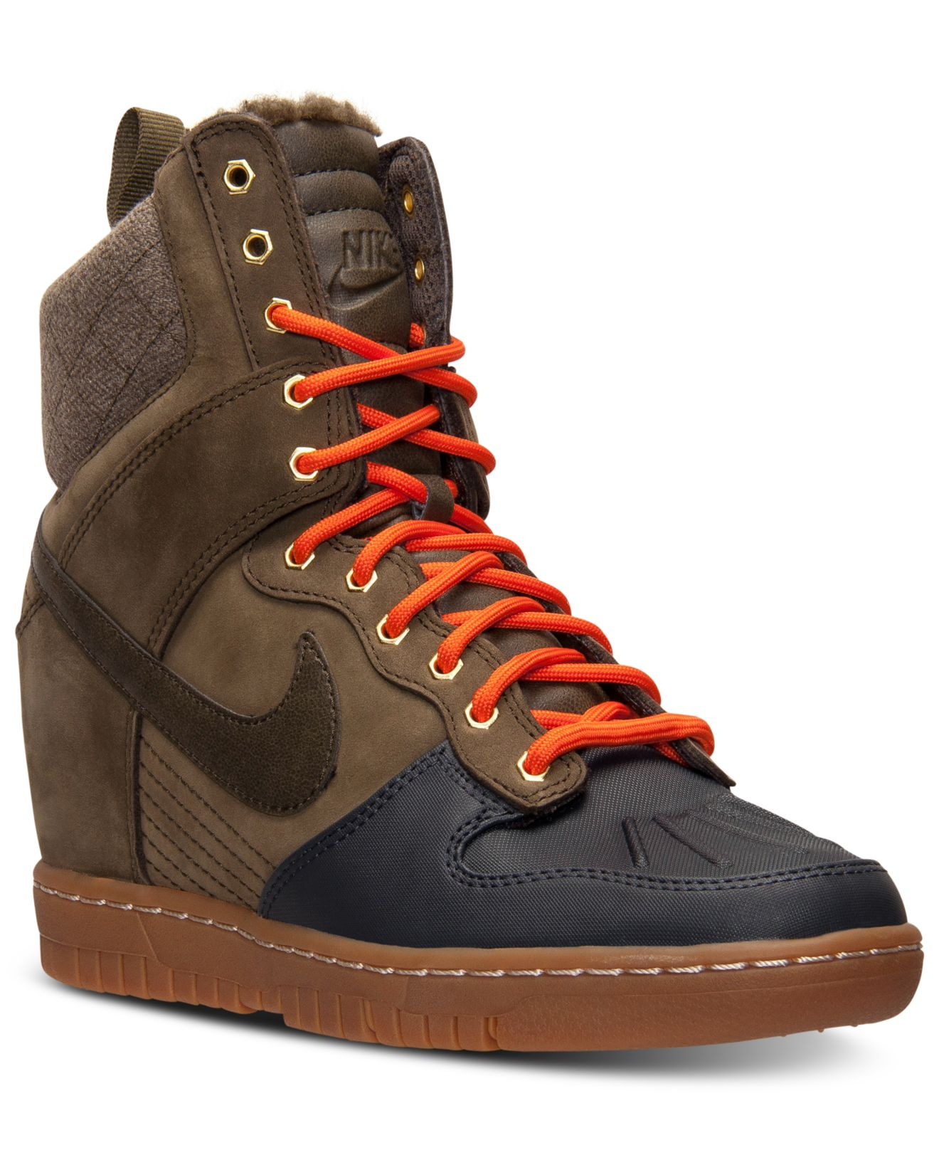 0be876761514 ... amazon gallery. previously sold at macys womens nike dunk womens nike  dunk sky hi 1b968