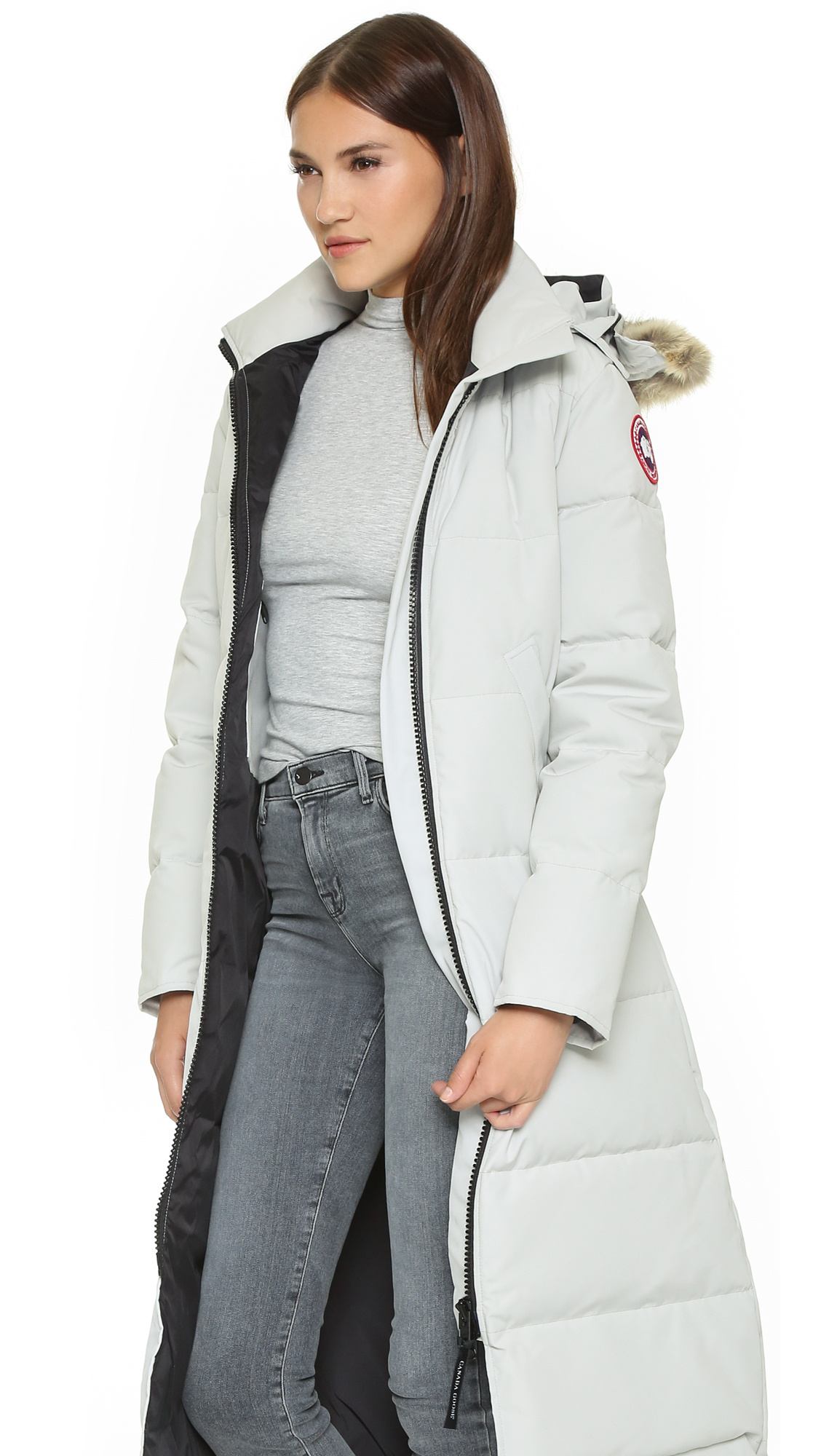 Canada Goose fake - Canada goose Mystique Parka - Silverbirch in Gray (Silverbirch) | Lyst