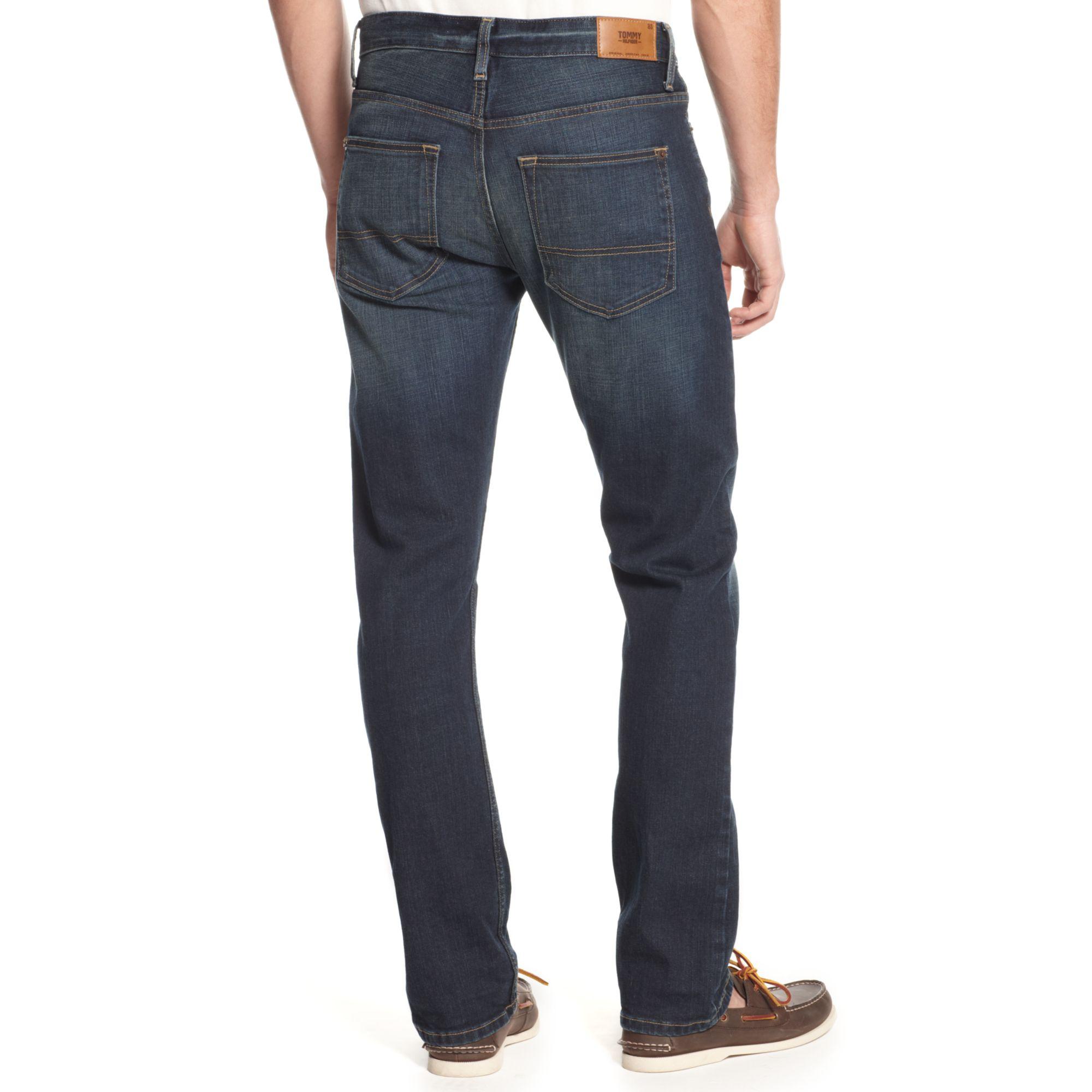 tommy hilfiger bacara rebel slim fit jeans in blue for men lyst. Black Bedroom Furniture Sets. Home Design Ideas